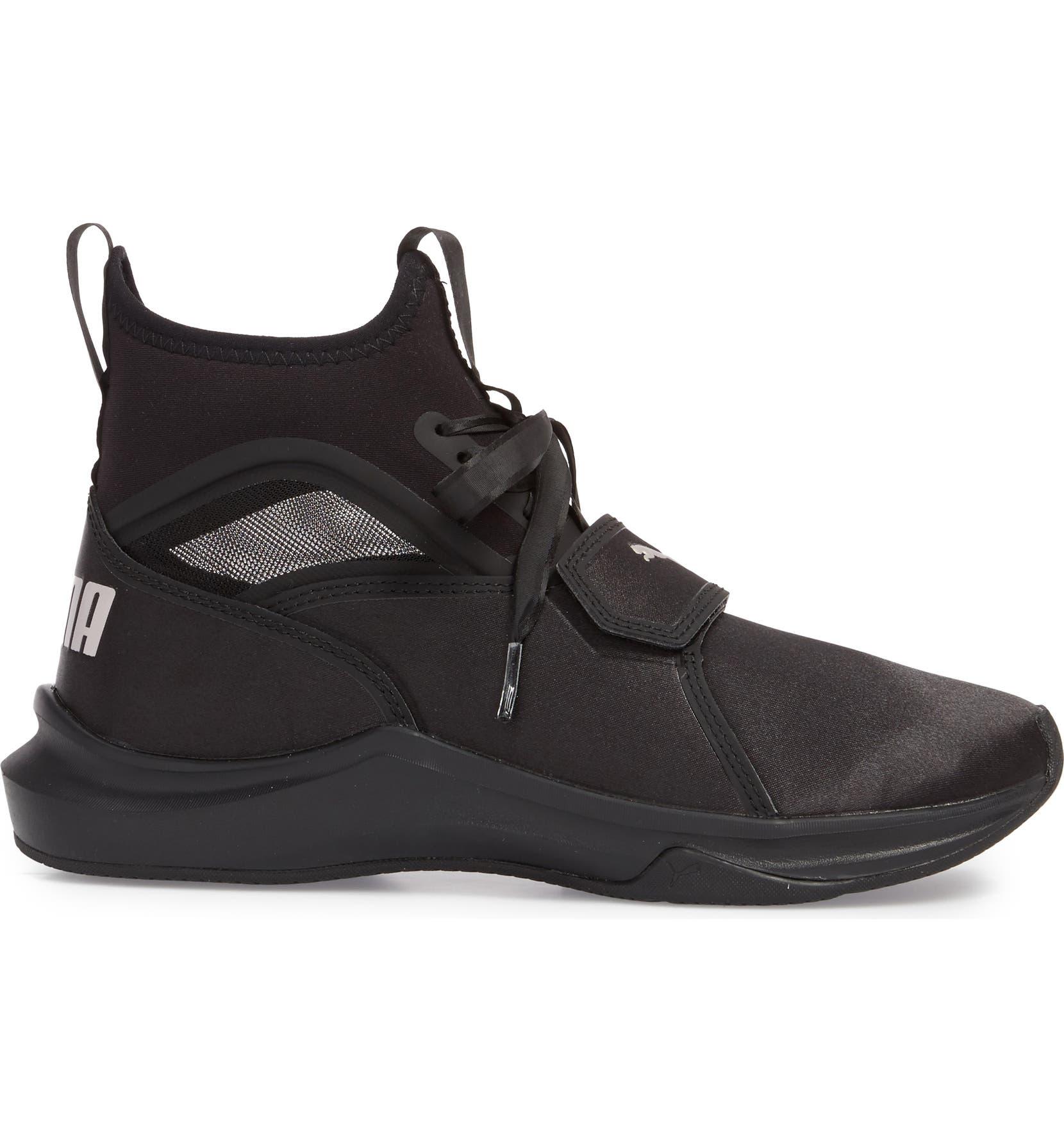 f868ec8e633abe PUMA Phenom Satin EP High Top Training Shoe (Women)