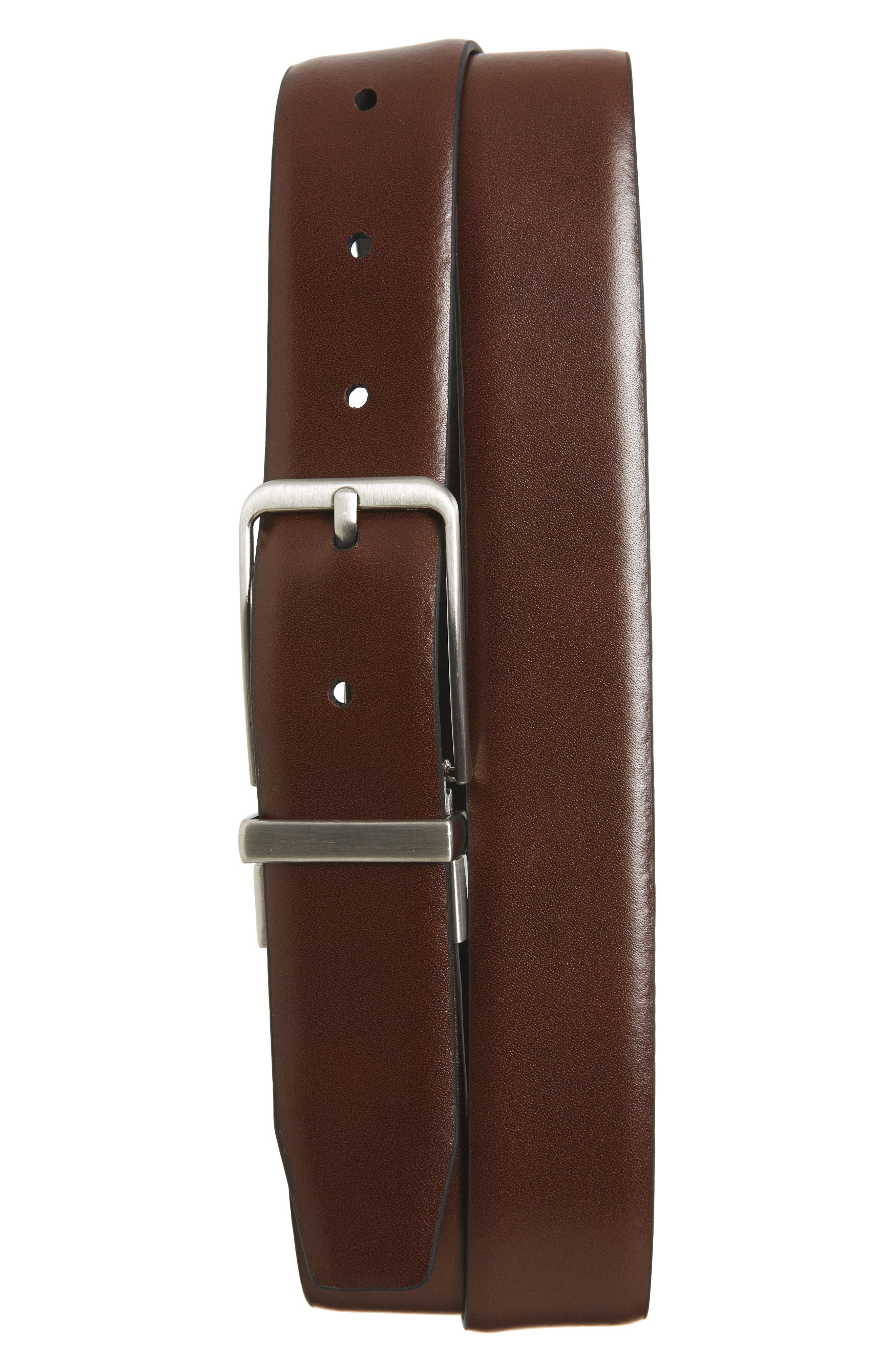 Porter Reversible Leather Belt,                             Alternate thumbnail 2, color,