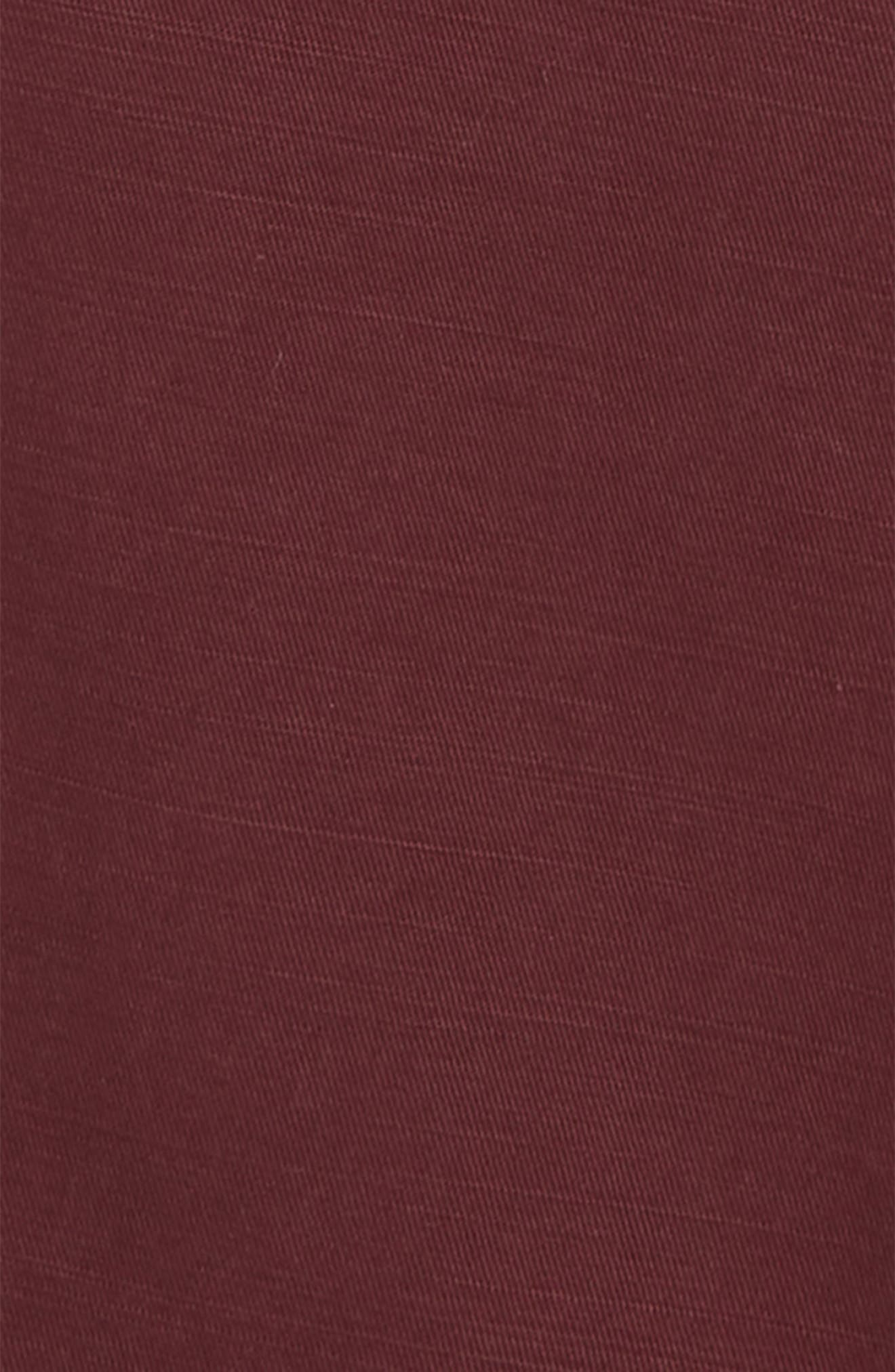 Jay Chino Shorts,                             Alternate thumbnail 2, color,                             WINE