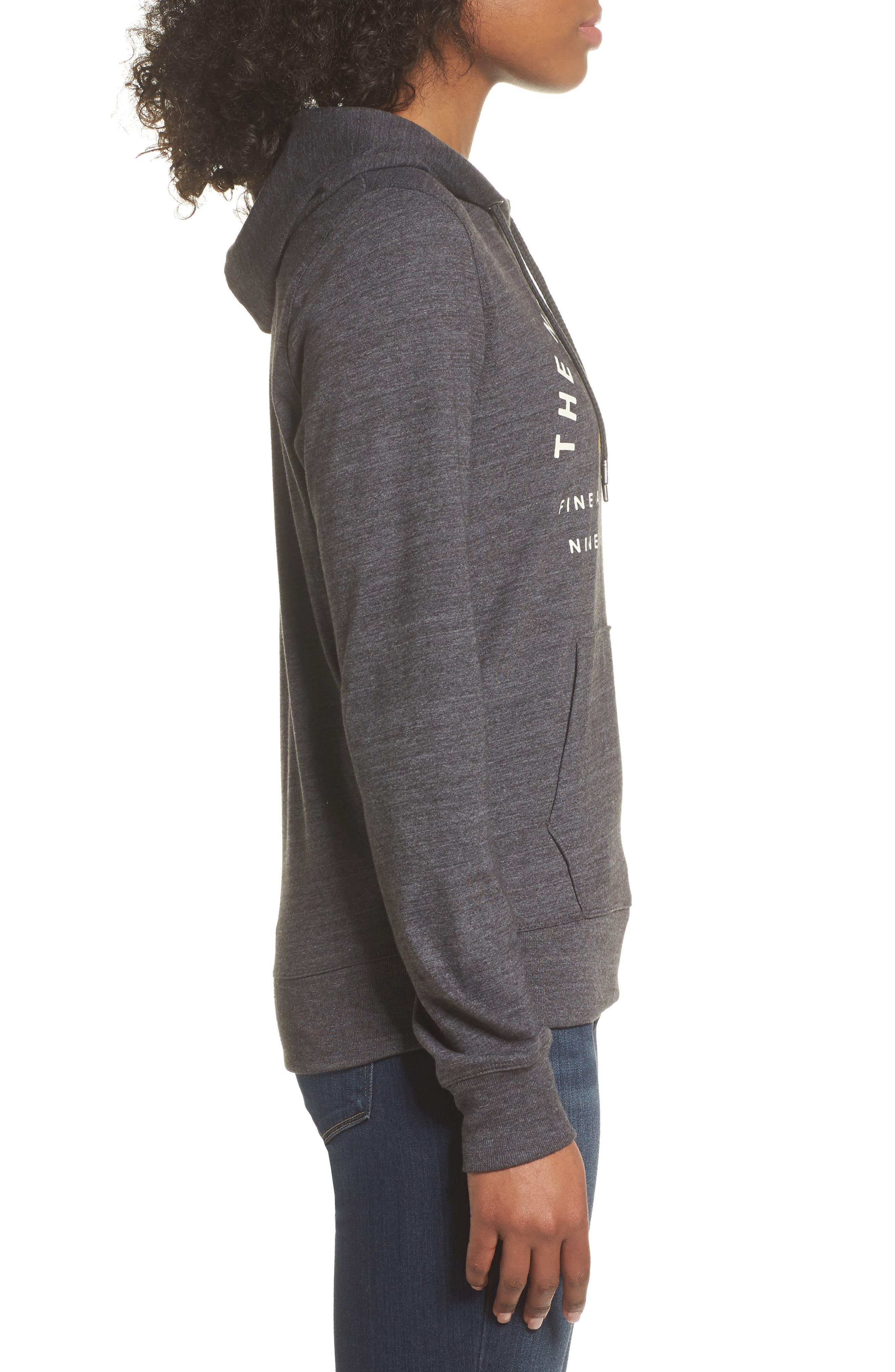 Lightweight Hoodie Sweatshirt,                             Alternate thumbnail 3, color,                             021
