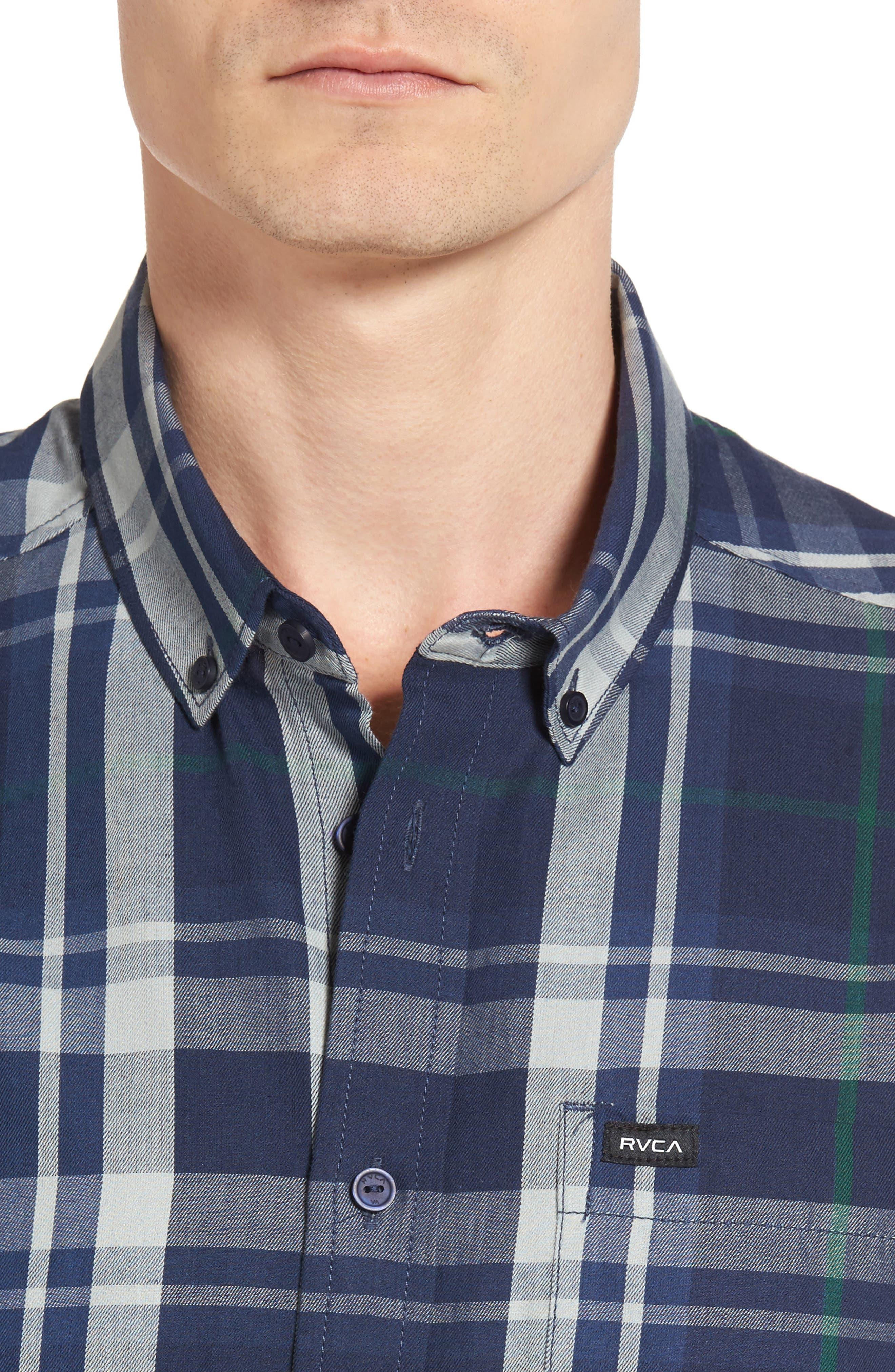 Waas 2 Plaid Woven Shirt,                             Alternate thumbnail 8, color,