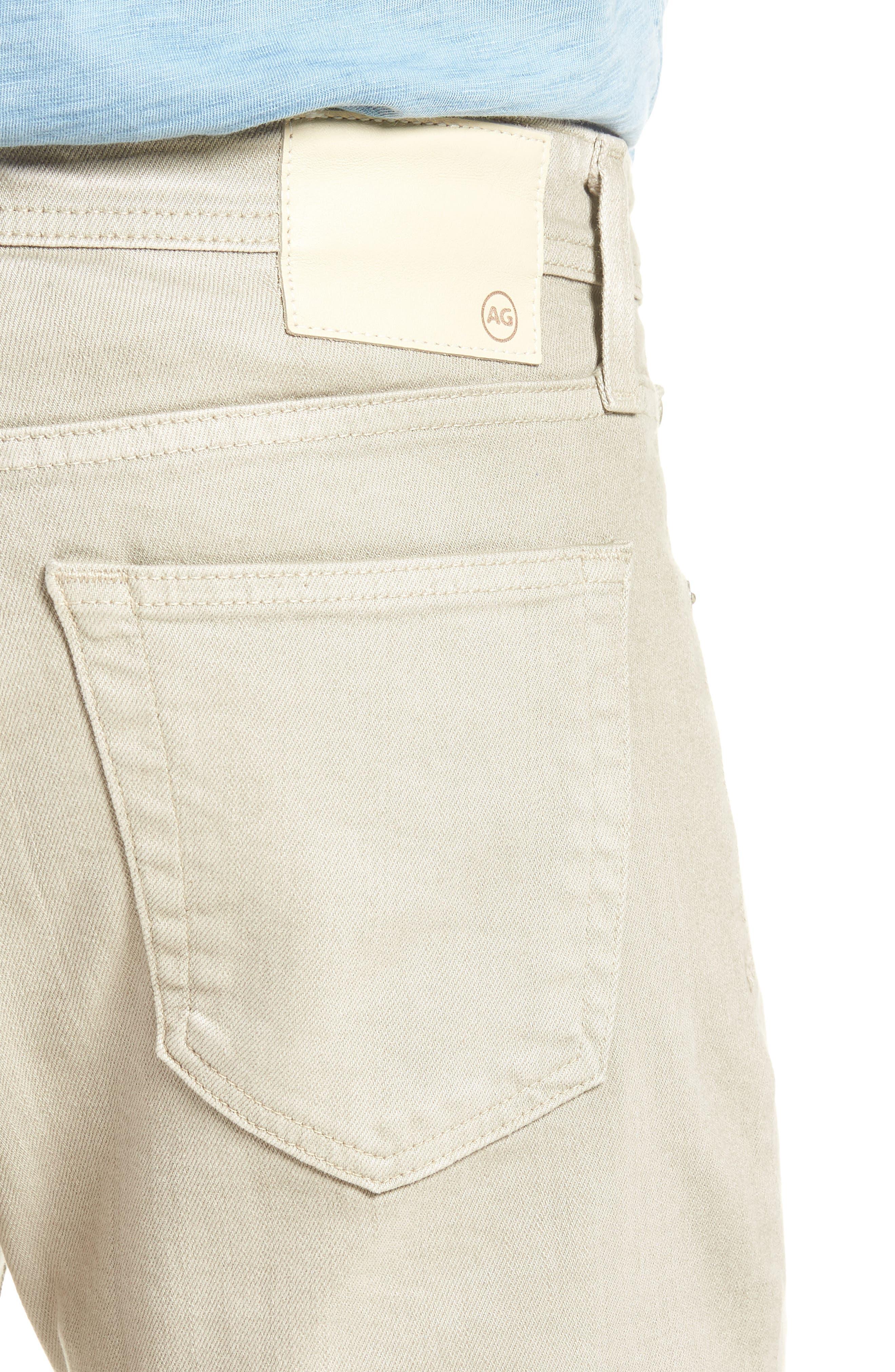 Tellis Slim Leg Twill Pants,                             Alternate thumbnail 4, color,                             268