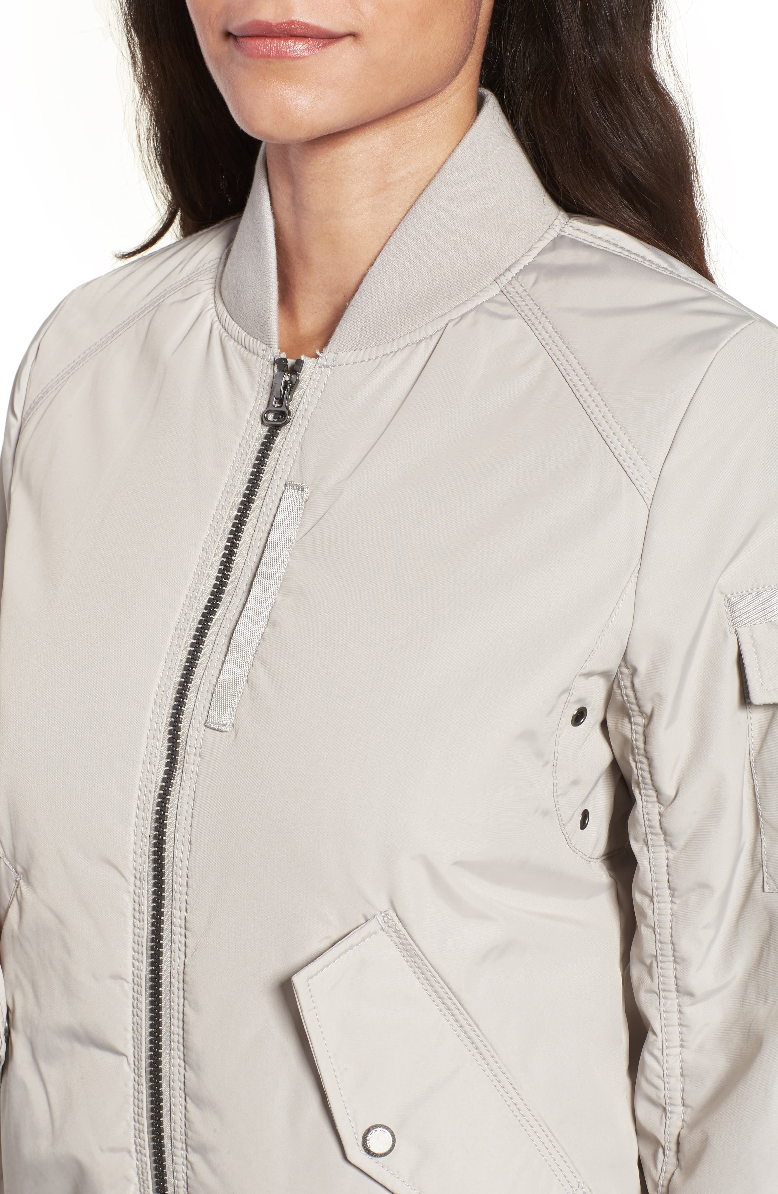 Foster Nylon Twill Bomber Jacket,                             Alternate thumbnail 15, color,