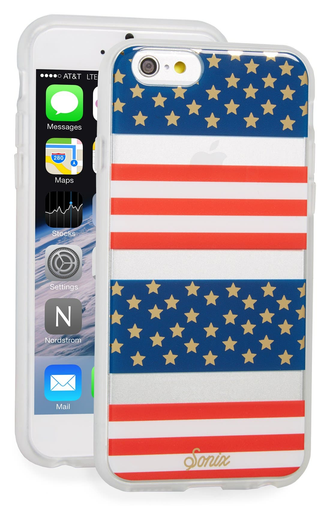 'Born in the USA' iPhone 6 & 6s Case,                             Main thumbnail 1, color,
