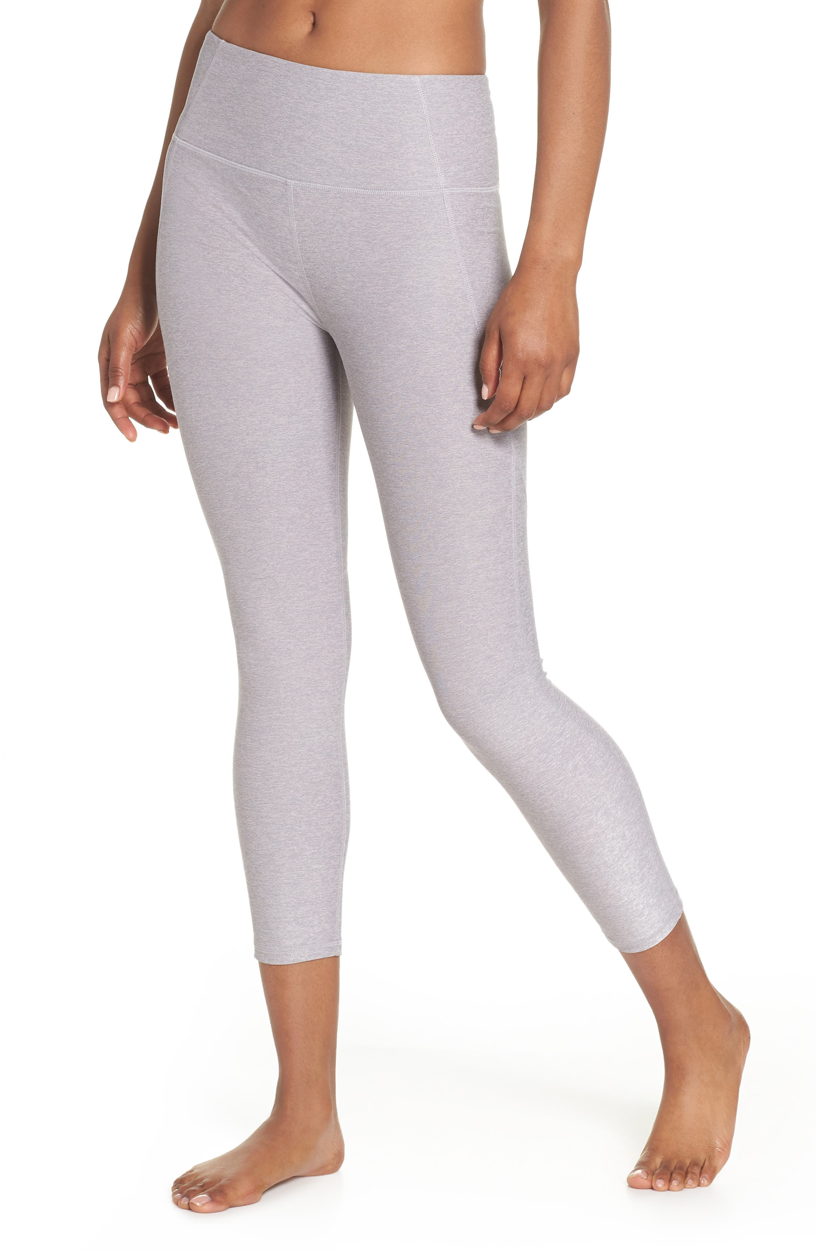 Everett High Waist Crop Tights,                         Main,                         color, GINGER SNAP/ FOLKSTONE GRAY