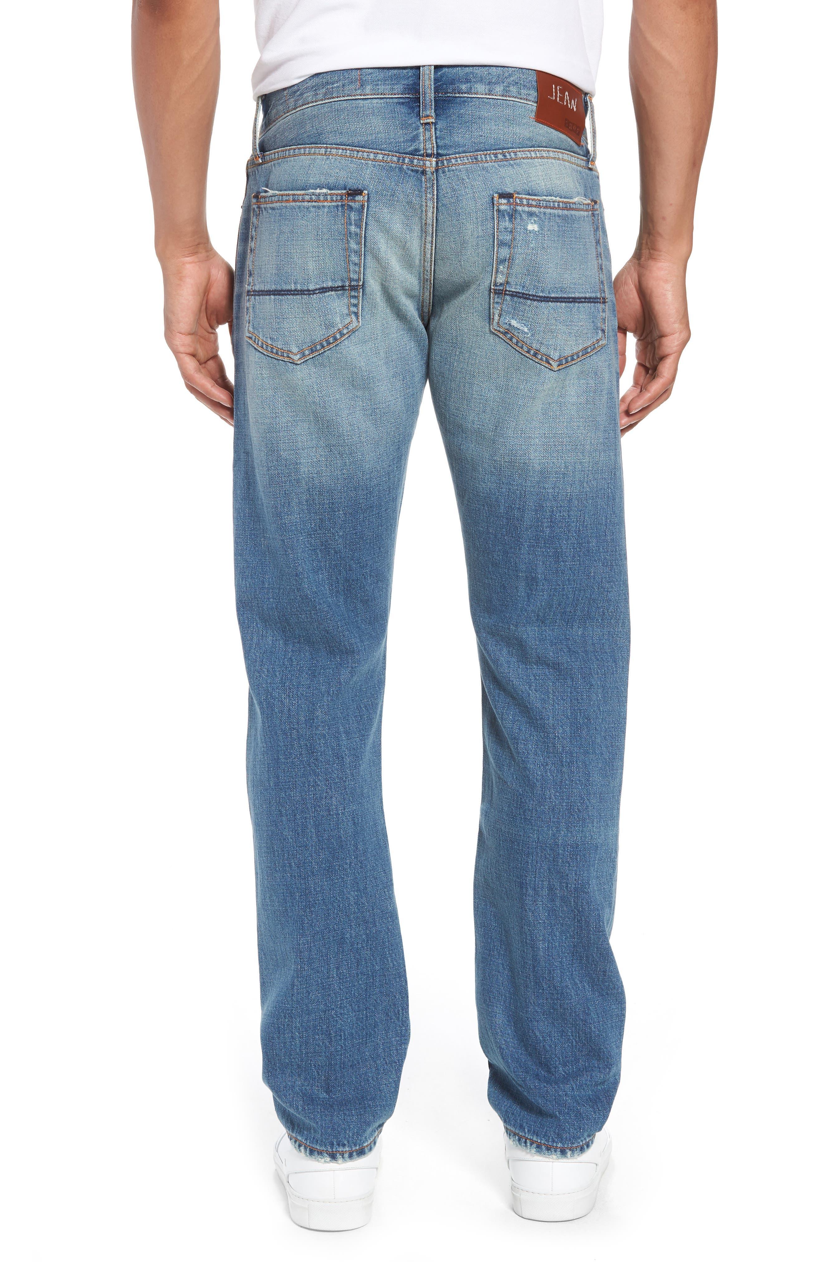 Mick Slim Straight Leg Jeans,                             Alternate thumbnail 2, color,                             400