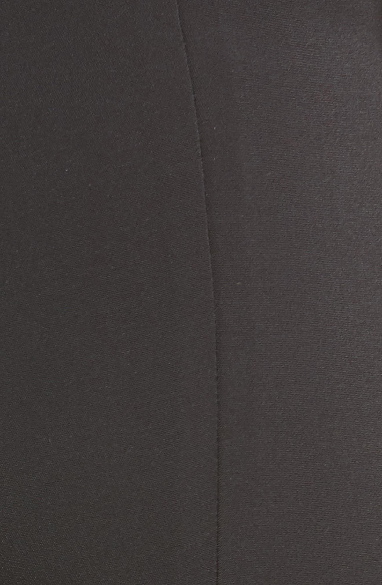 Naomi High Waist Flare Pants,                             Alternate thumbnail 5, color,                             001
