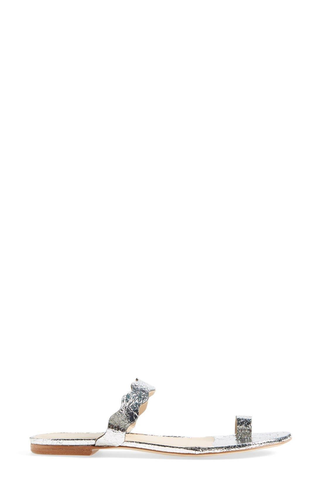 'Petal' Slide Sandal,                             Alternate thumbnail 3, color,                             040