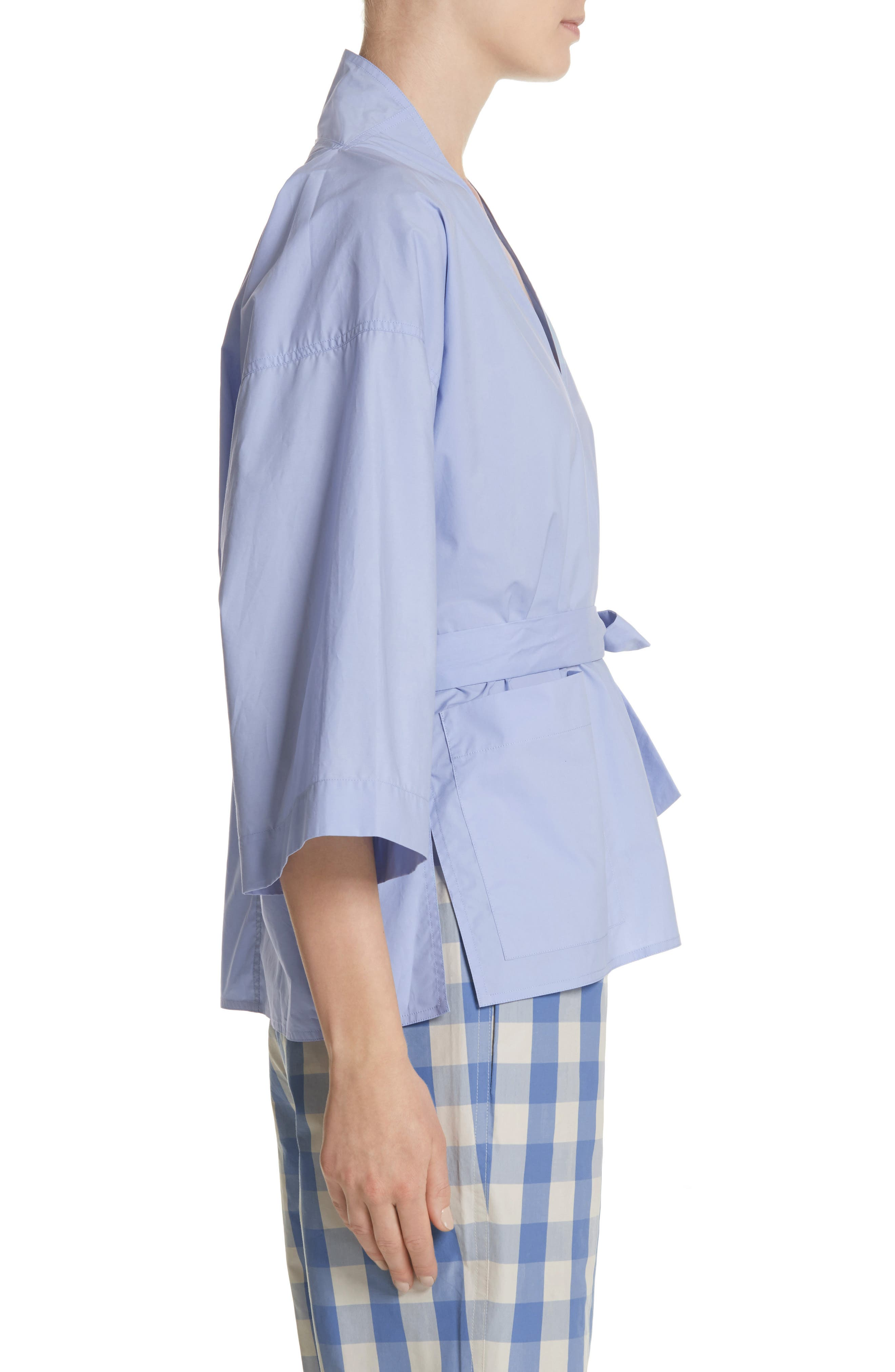 Belted Blouse,                             Alternate thumbnail 3, color,                             400