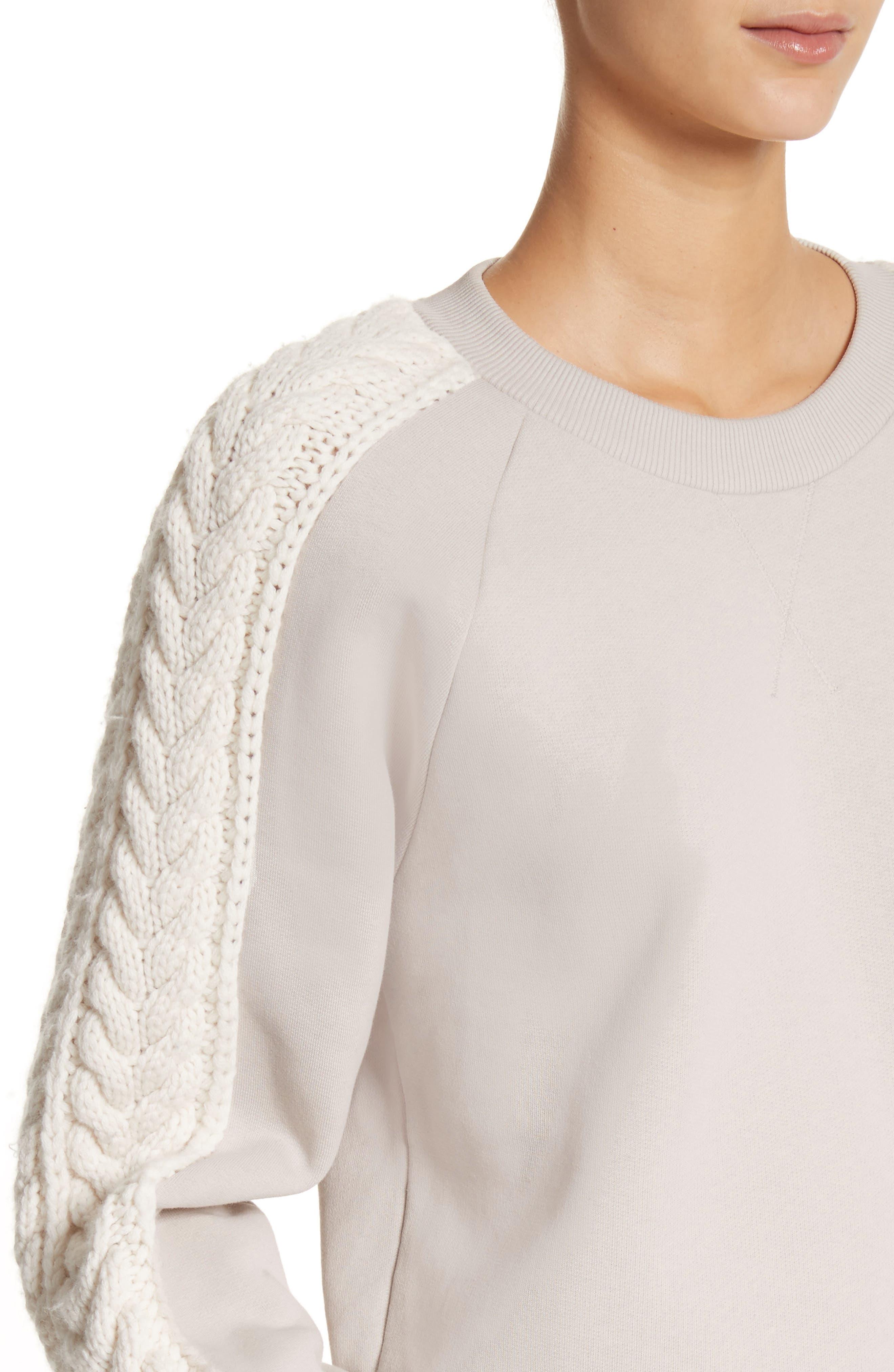 Selho Sweatshirt,                             Alternate thumbnail 4, color,                             106