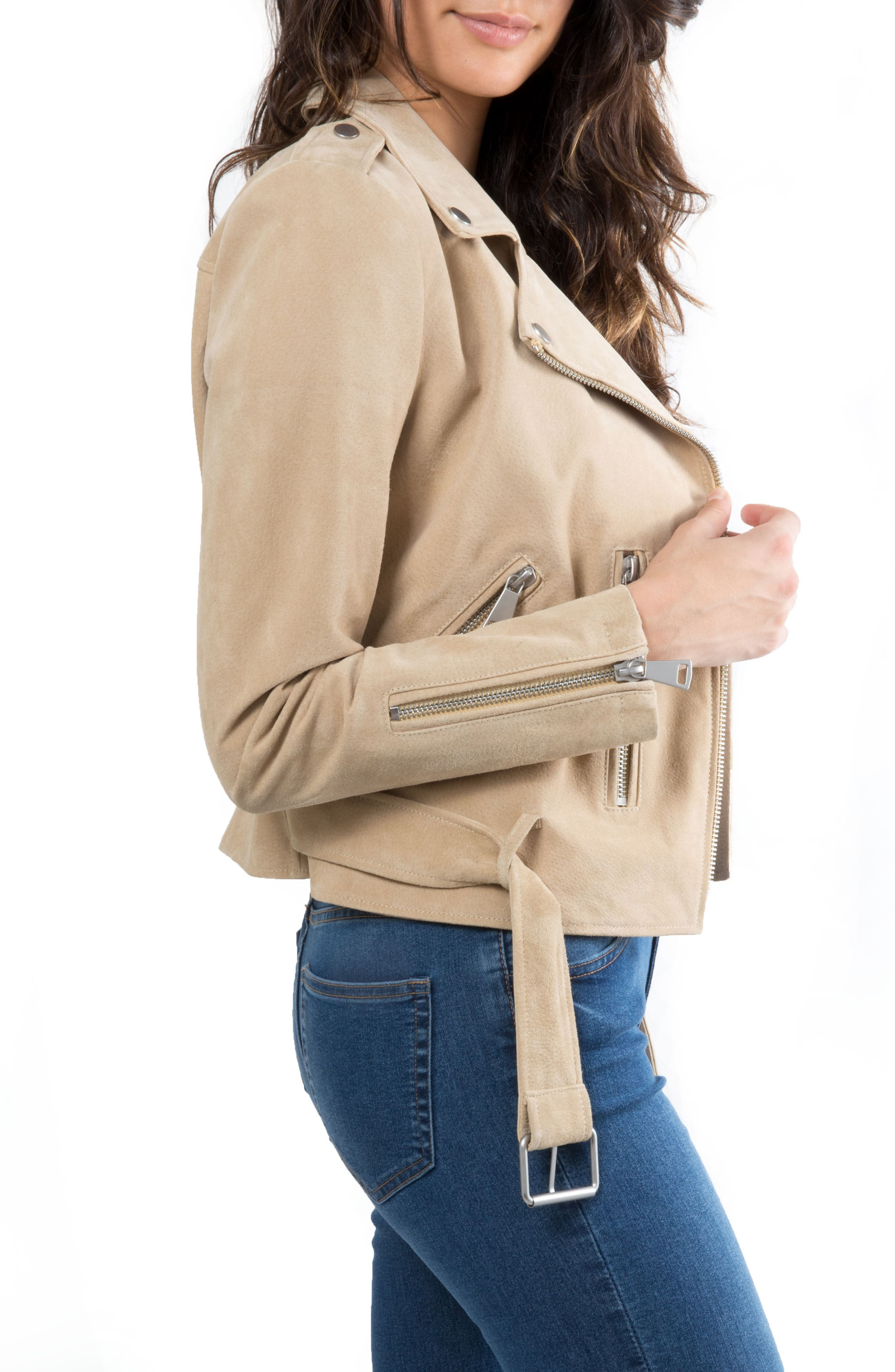 NYC  Suede Jacket,                             Alternate thumbnail 19, color,