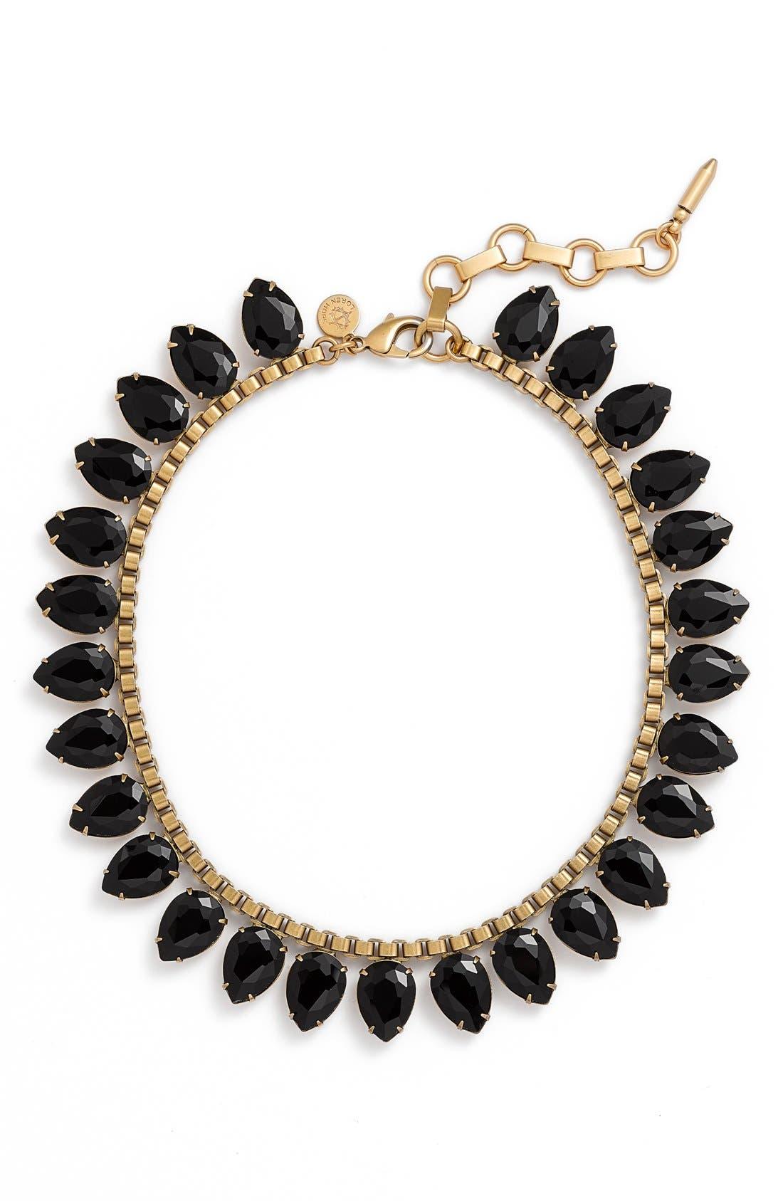 'Sylvia' Crystal Collar Necklace,                             Main thumbnail 1, color,                             001