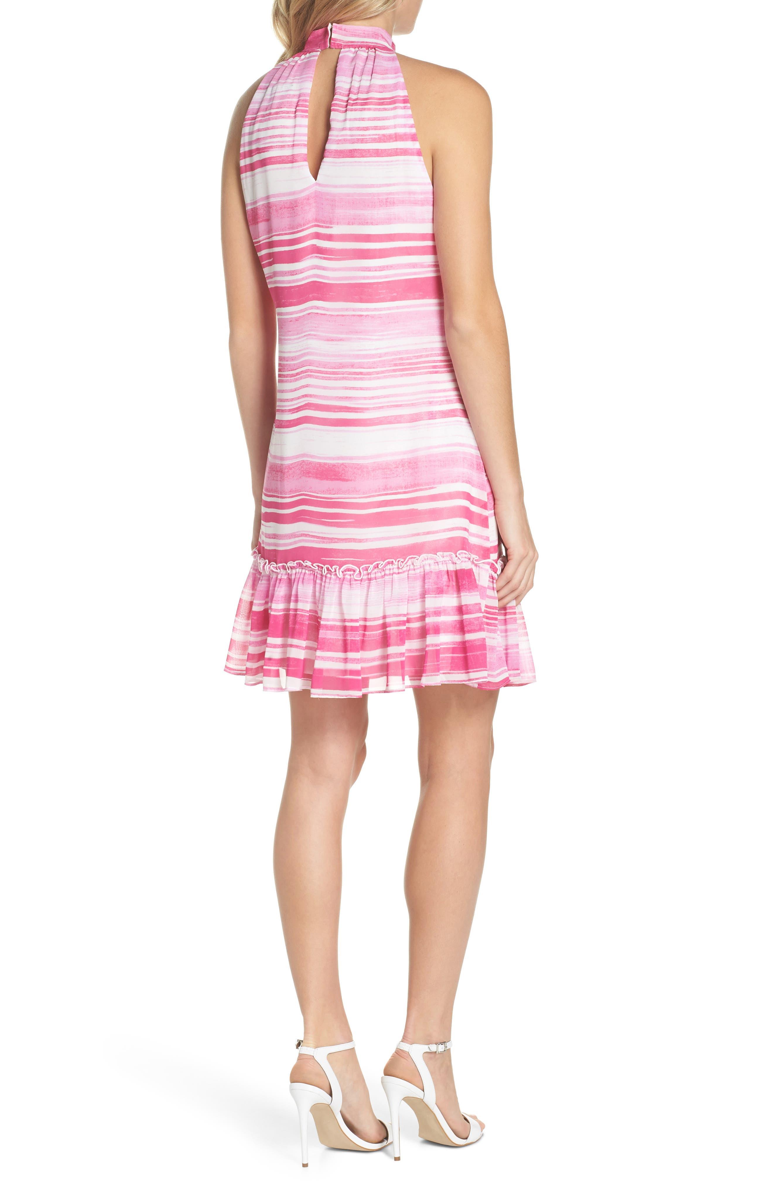 Zuri Halter Shift Dress,                             Alternate thumbnail 2, color,                             674