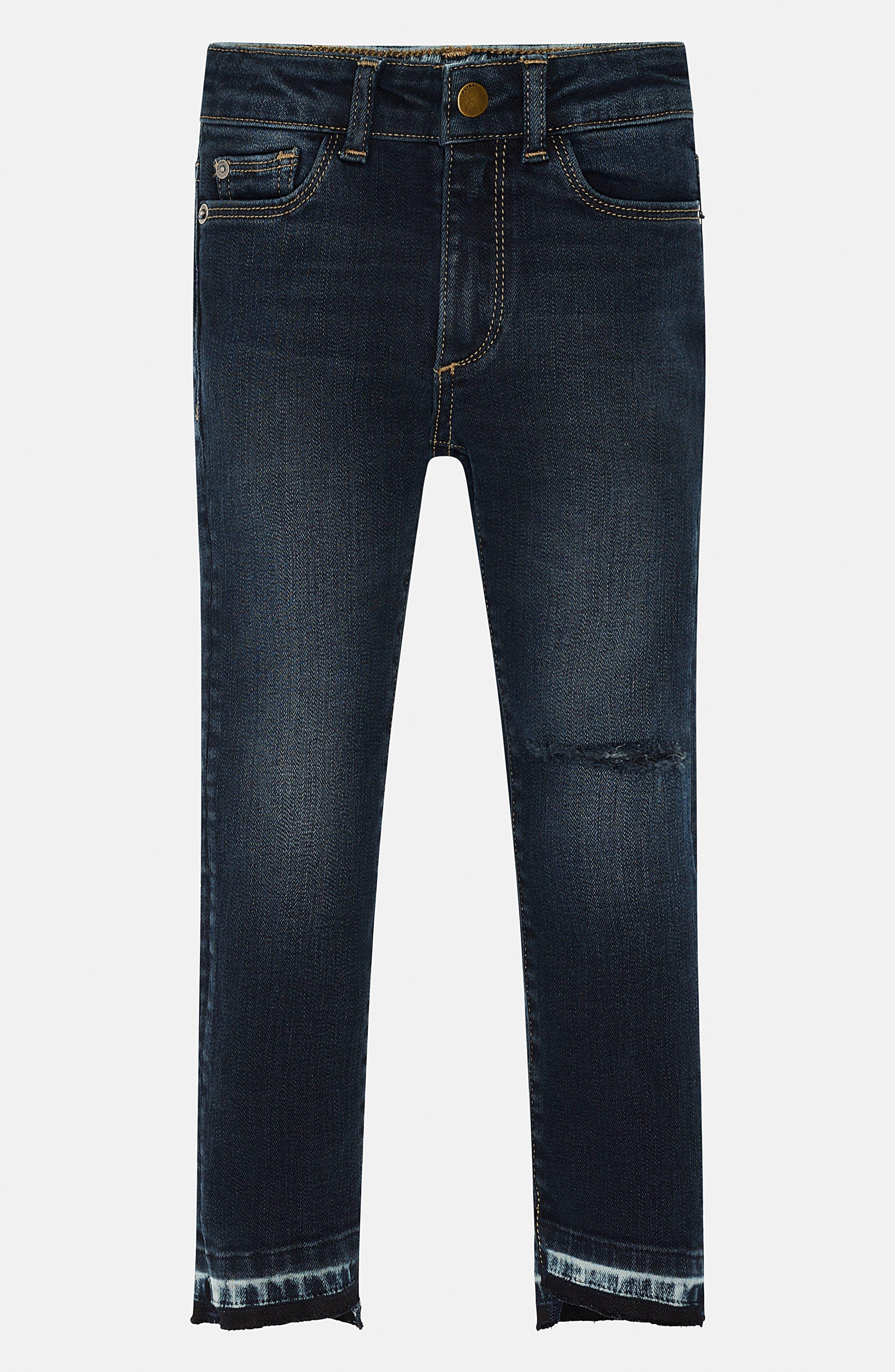 Chloe Distressed Skinny Jeans,                         Main,                         color, 401