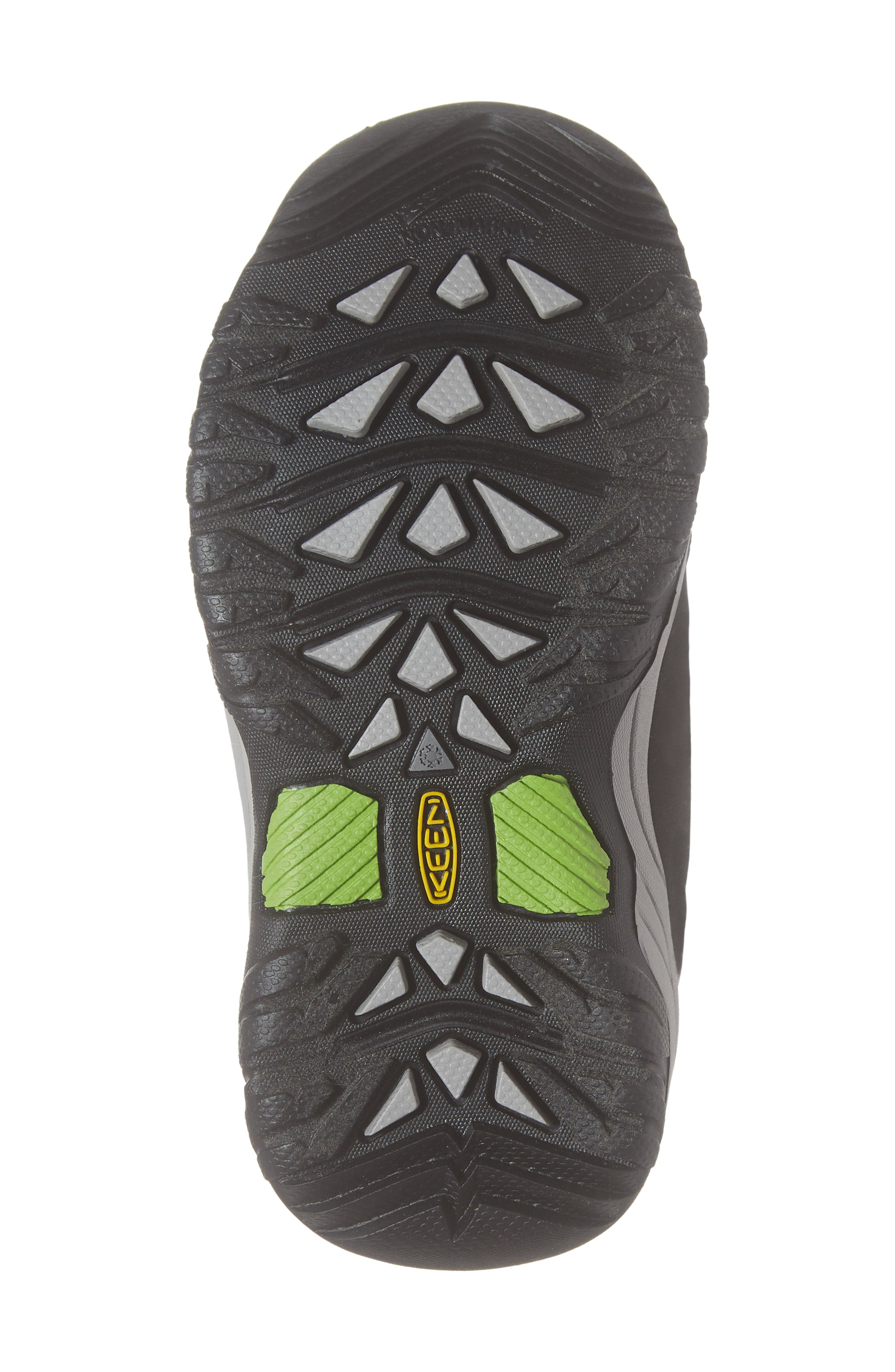 Winterport Neo Waterproof Insulated Boot,                             Alternate thumbnail 6, color,                             BLACK/ GREENERY