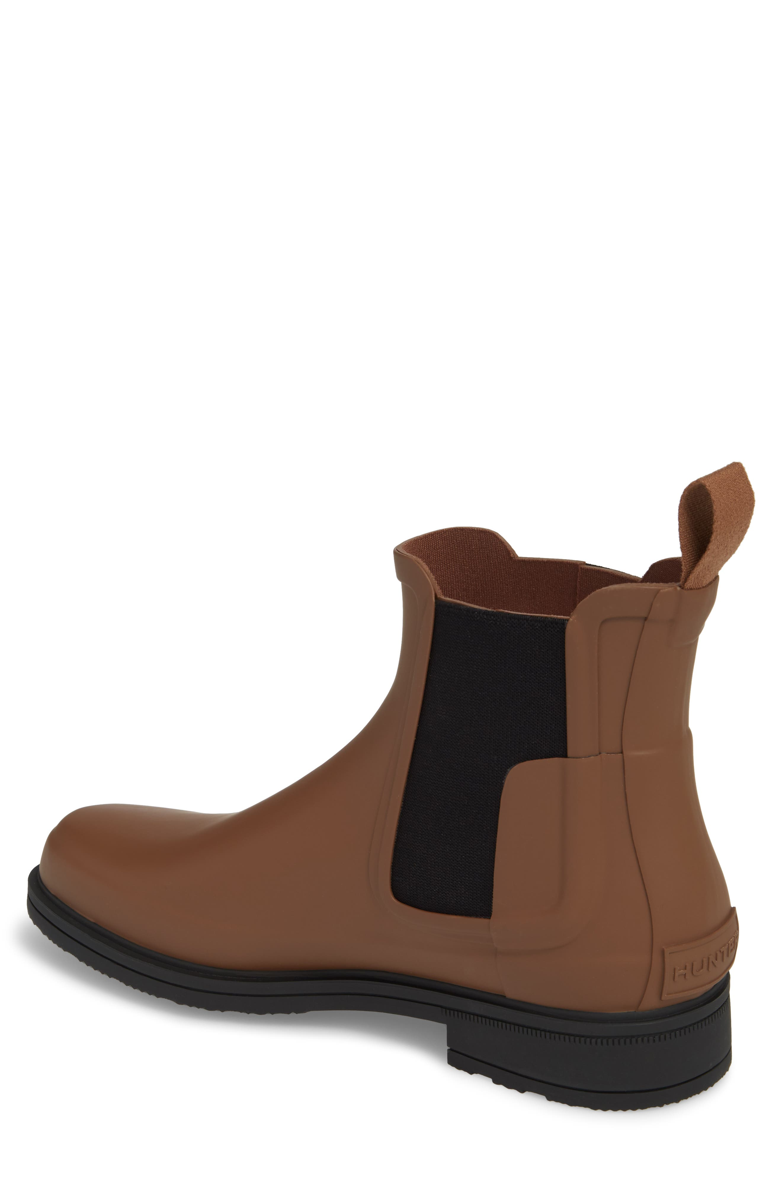 Original Refined Waterproof Chelsea Boot,                             Alternate thumbnail 2, color,                             SOIL/ BLACK