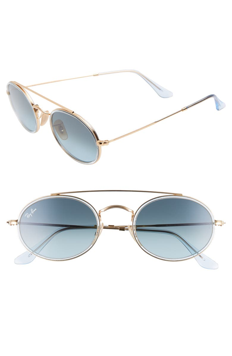 6f71a9bb3a Ray-Ban Elite 52mm Gradient Oval Sunglasses