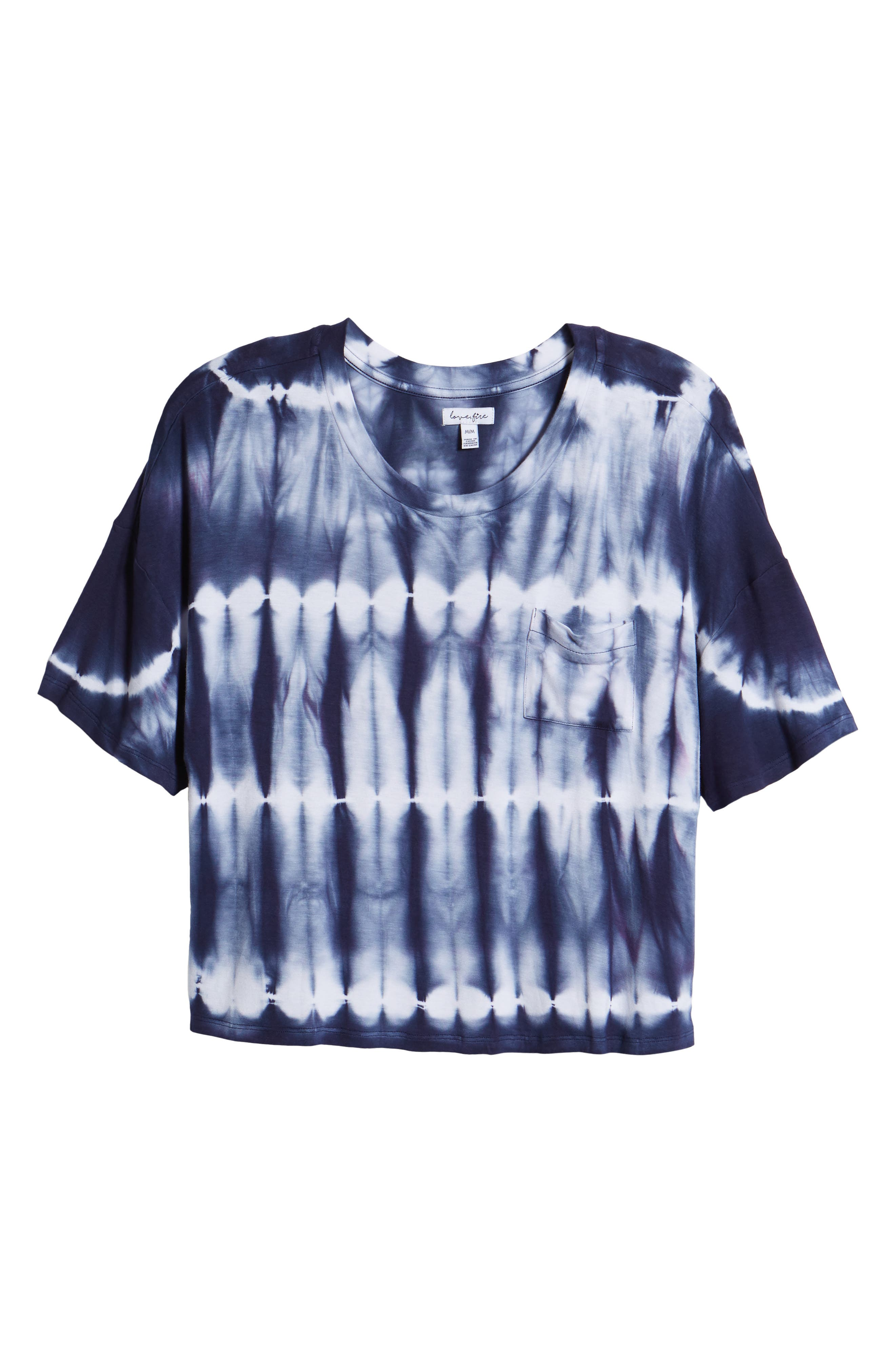 Tie Dye Tee,                             Alternate thumbnail 12, color,