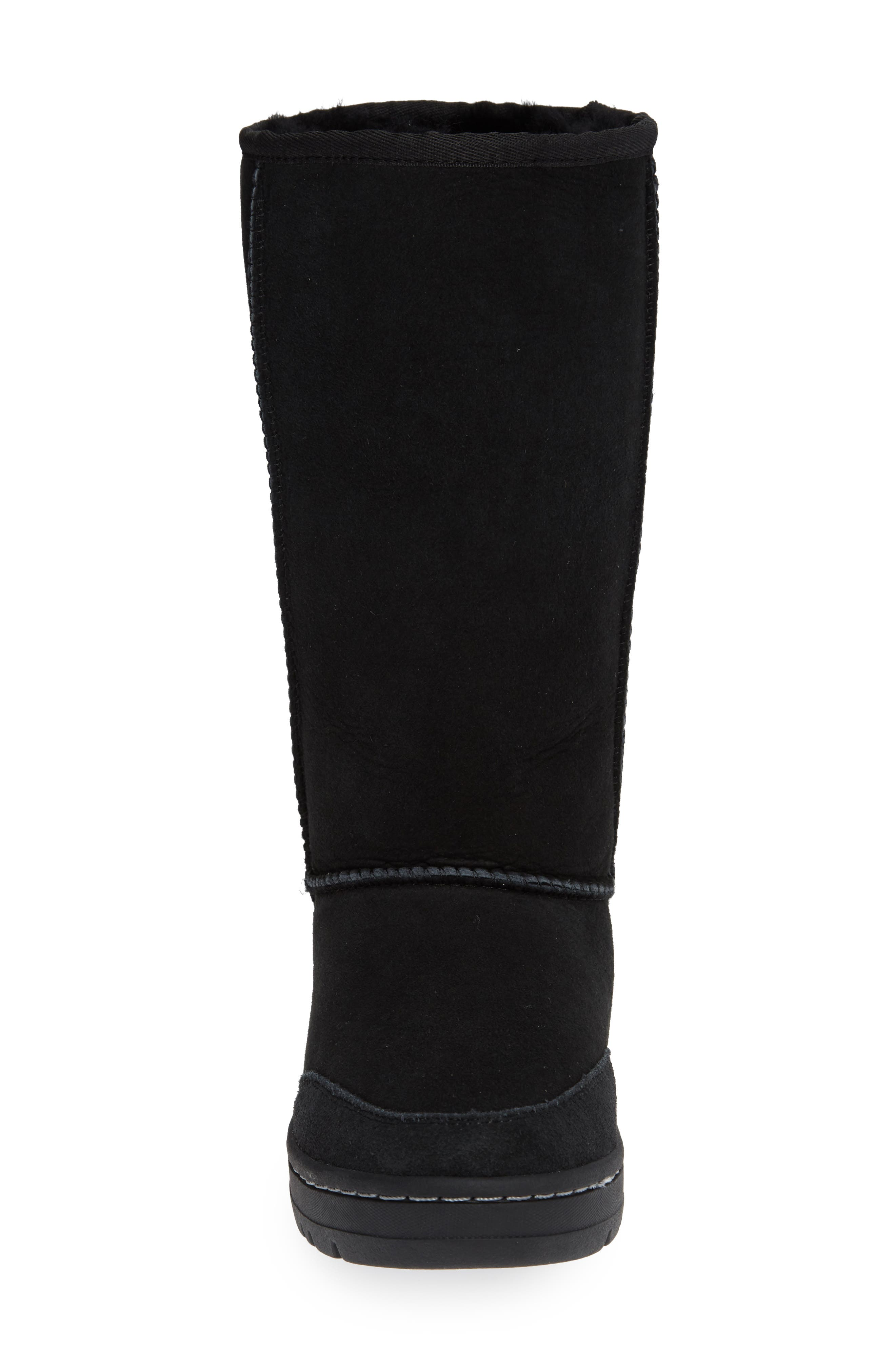 UGG<SUP>®</SUP>,                             Ultra Revival Genuine Shearling Tall Boot,                             Alternate thumbnail 4, color,                             001