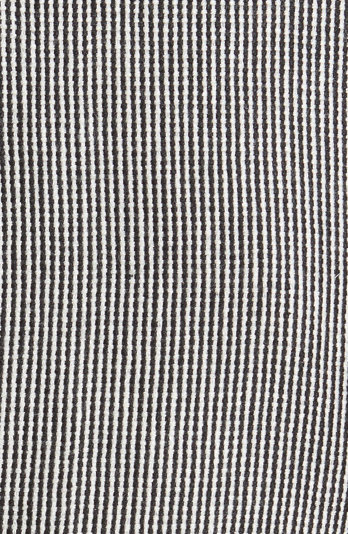 Stripe Tweed Blazer,                             Alternate thumbnail 6, color,                             020