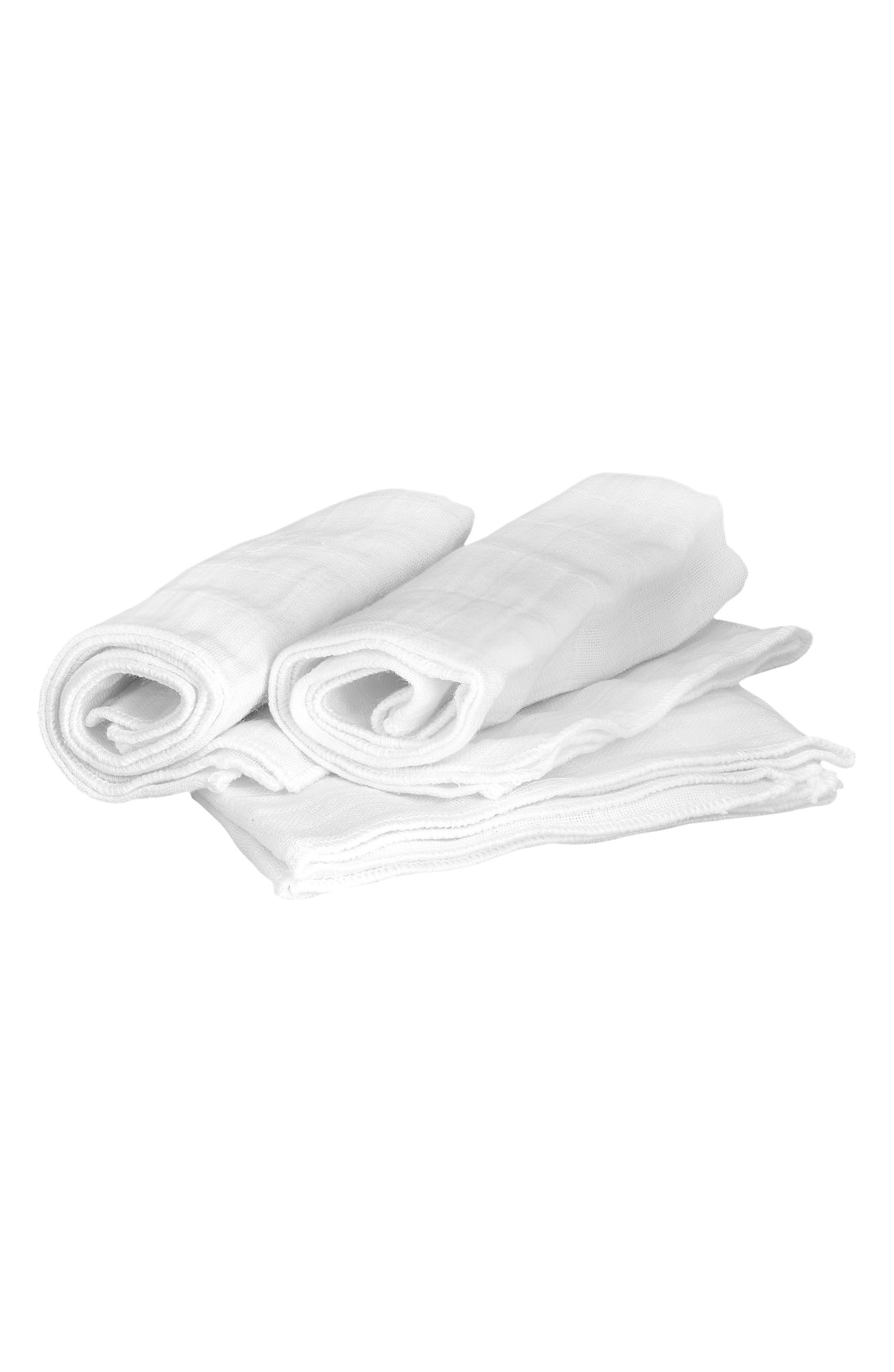 3-Pack Muslin Cloth,                         Main,                         color, NO COLOR