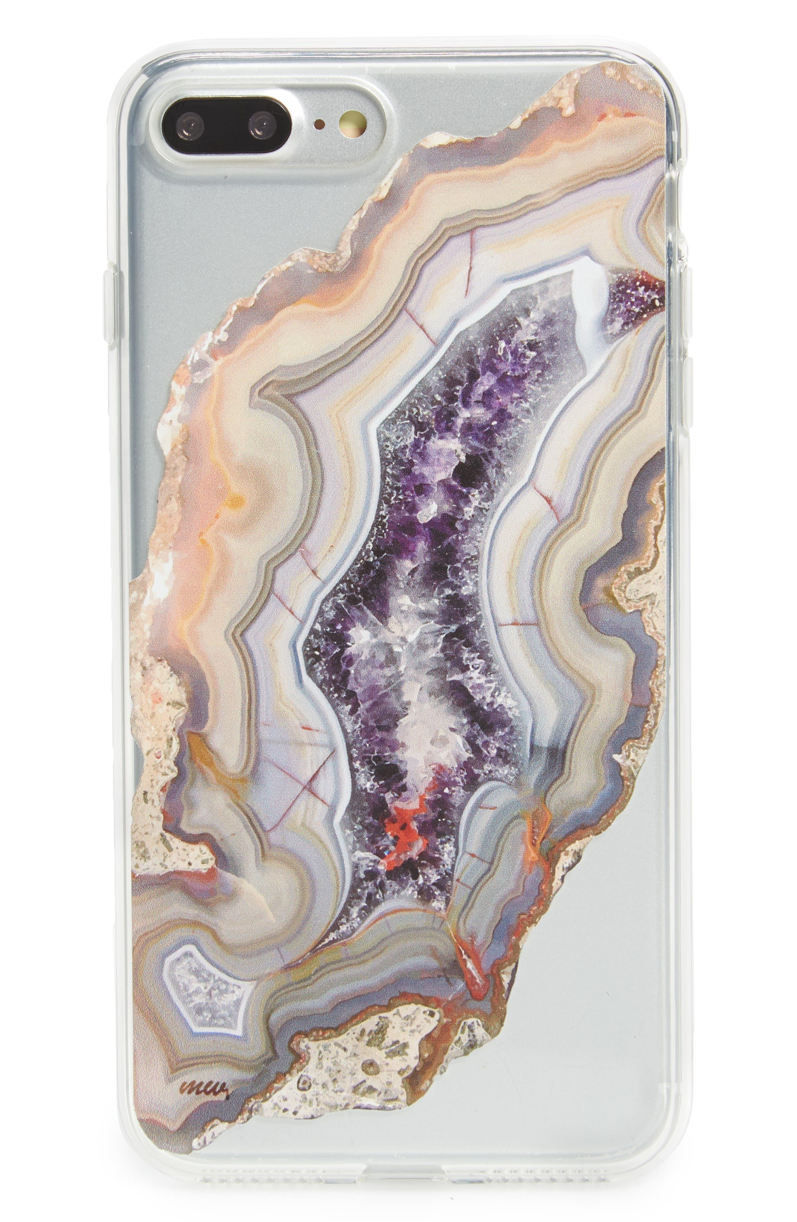 Agate iPhone 7/7 Plus Case,                             Main thumbnail 1, color,                             500