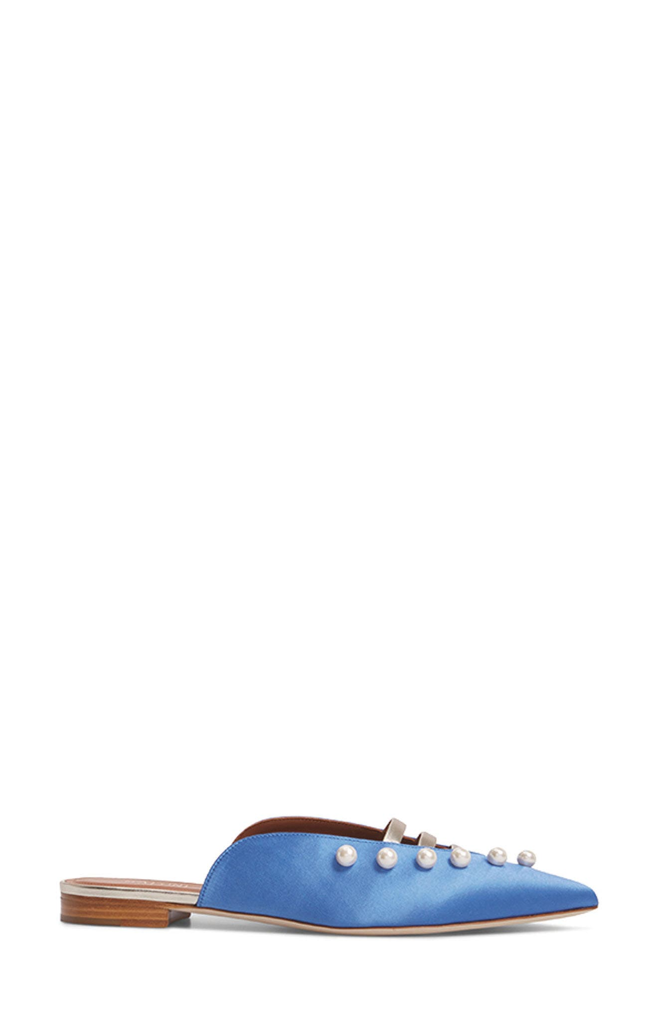 Malone Souliers Zelda Imitation Pearl Studded Mule,                             Alternate thumbnail 7, color,                             400