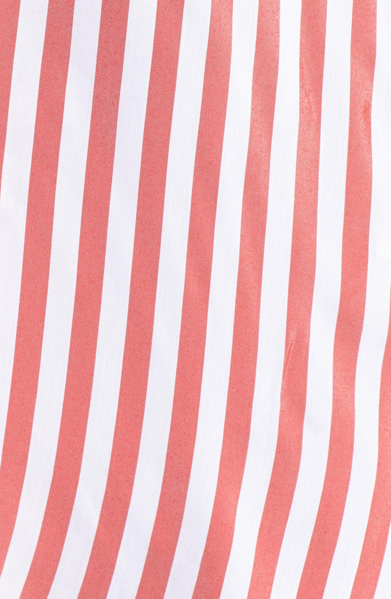 Stripe Blouse,                             Alternate thumbnail 6, color,                             101