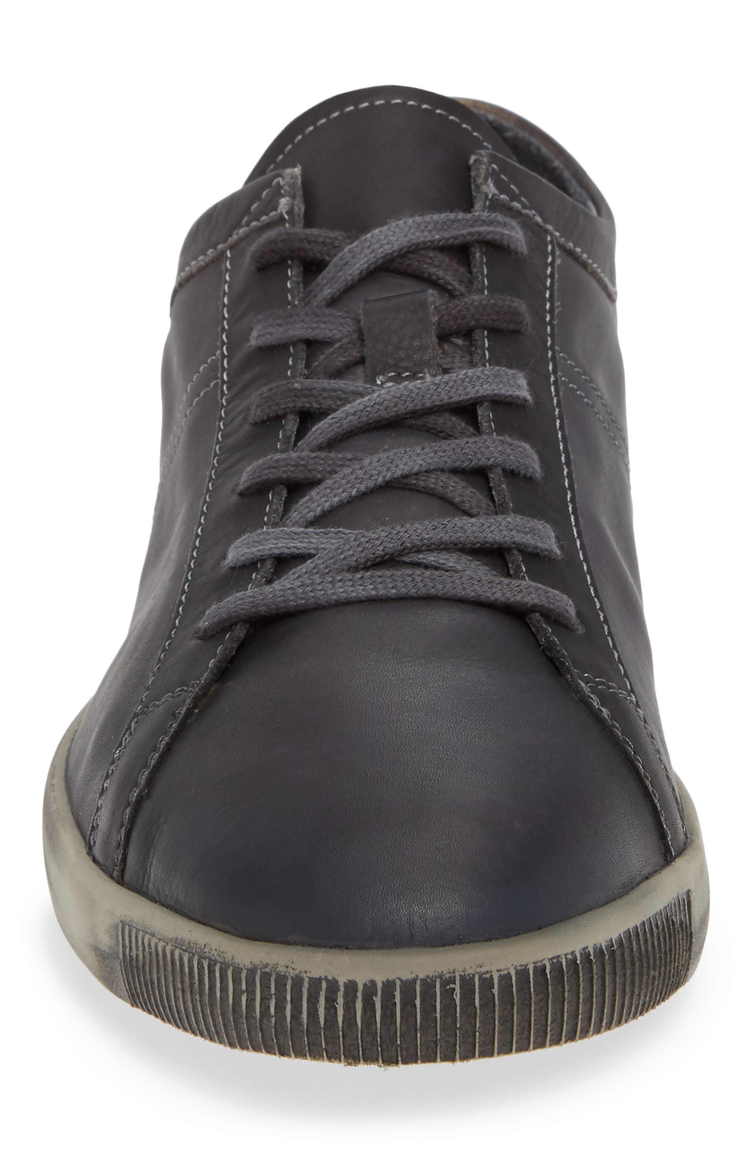 Tom Sneaker,                             Alternate thumbnail 4, color,                             ANTHRACITE WASHED LEATHER