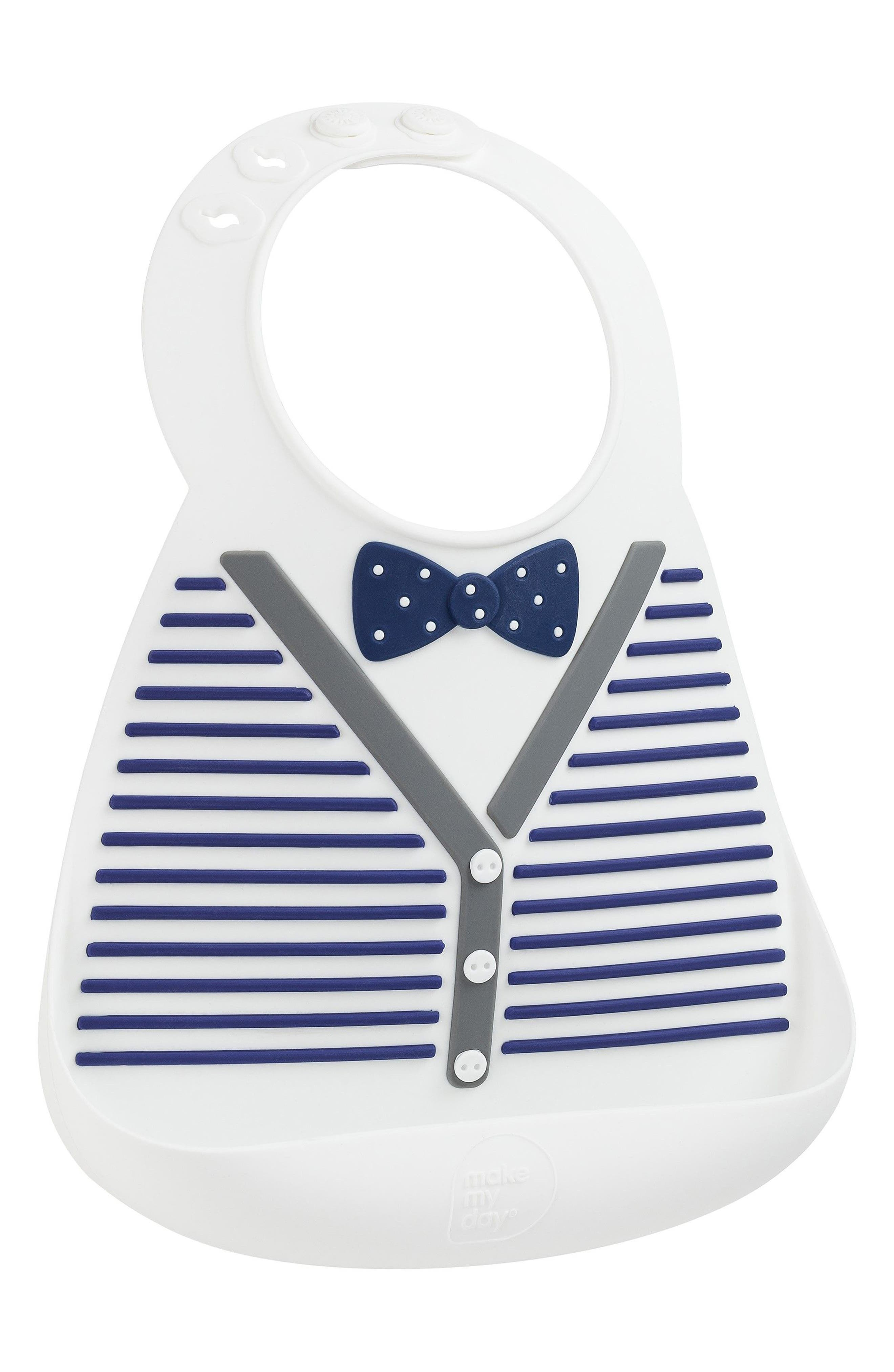 Little Gentleman Bib,                         Main,                         color, BLUE
