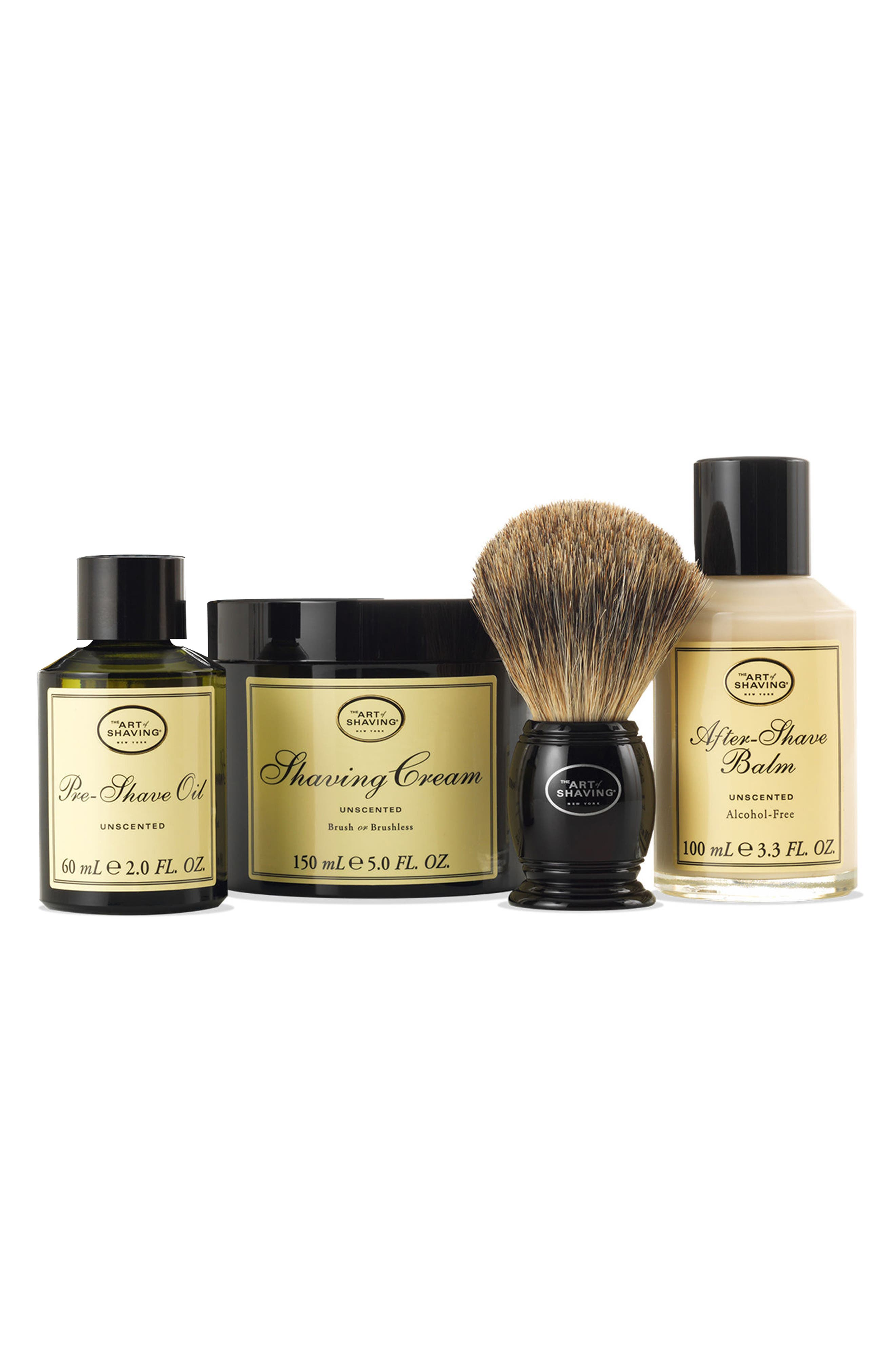 The 4 Elements of the Perfect Shave<sup>®</sup> Kit,                             Alternate thumbnail 3, color,                             UNSCENTED