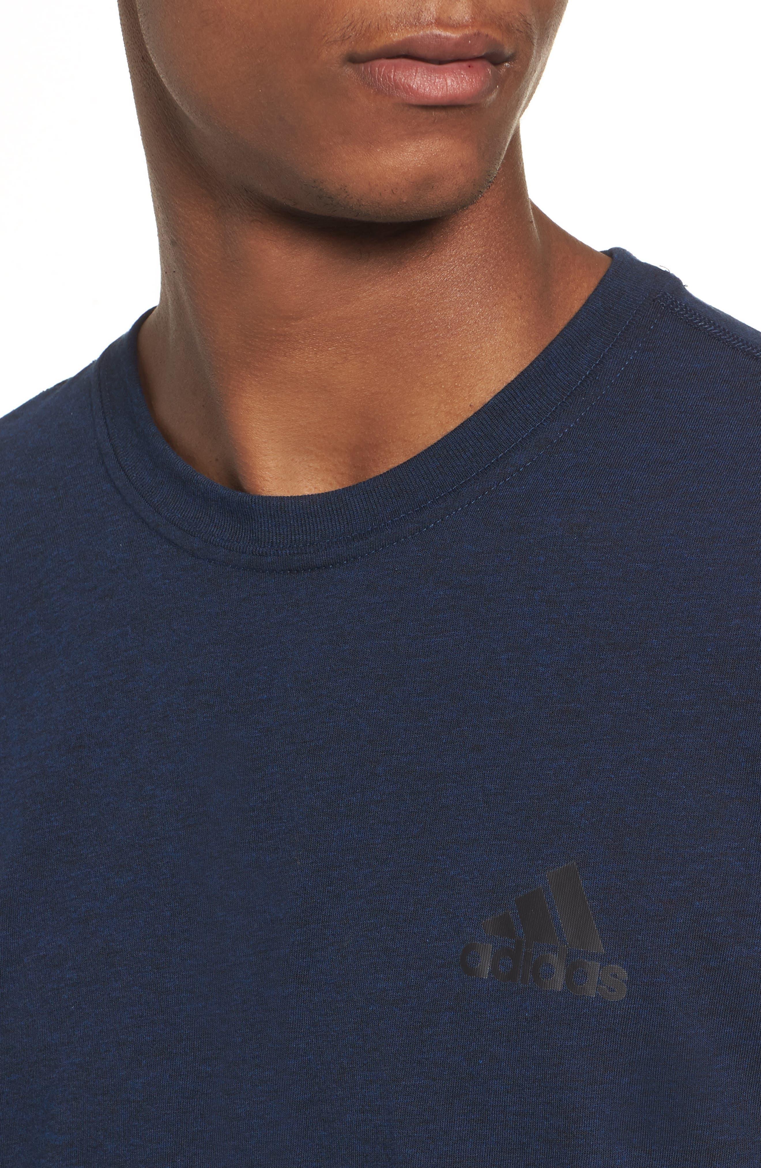 Ult Crewneck T-Shirt,                             Alternate thumbnail 4, color,                             002