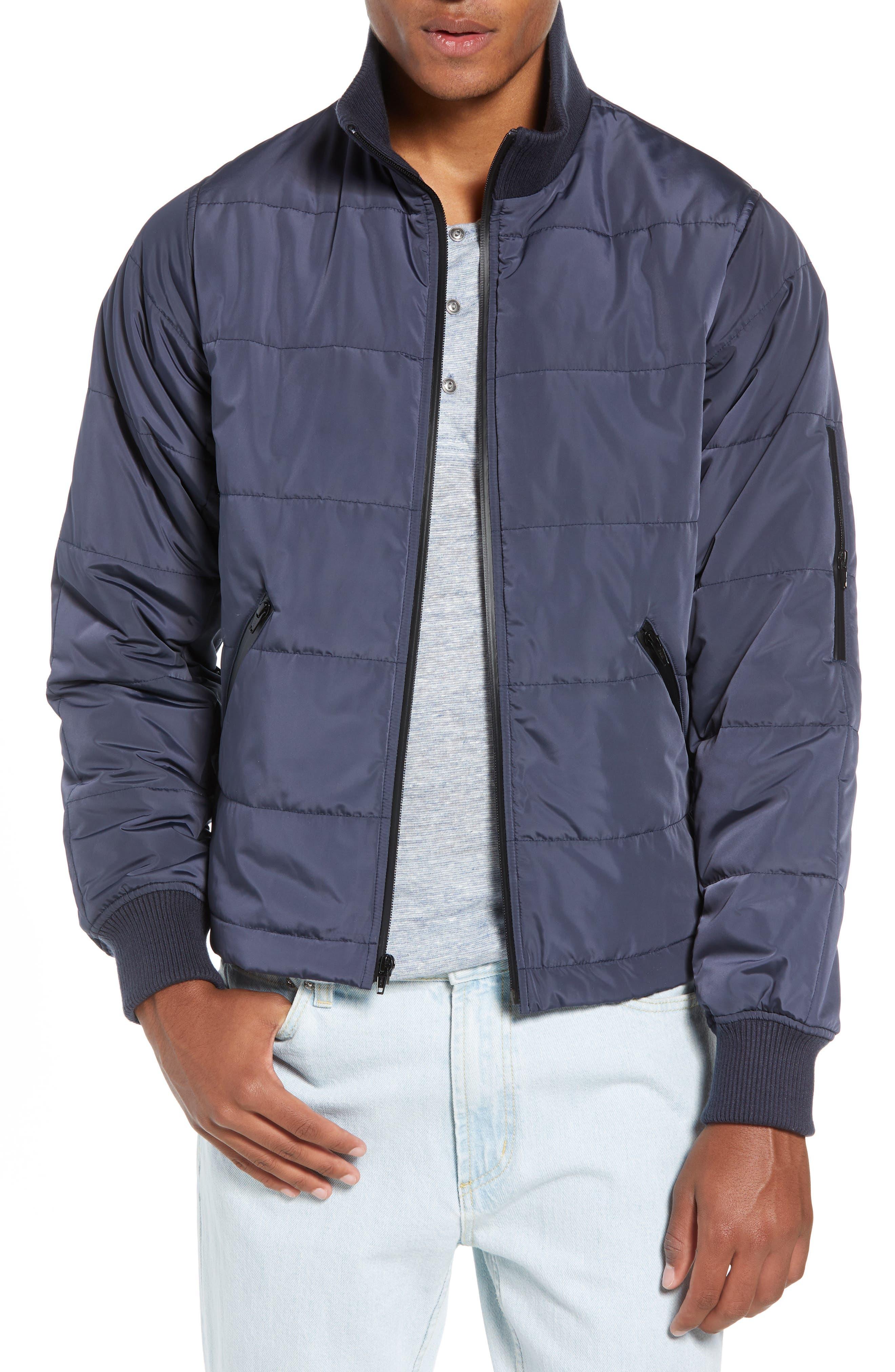 Life/after/denim Whistler Regular Fit Puffer Jacket, Blue