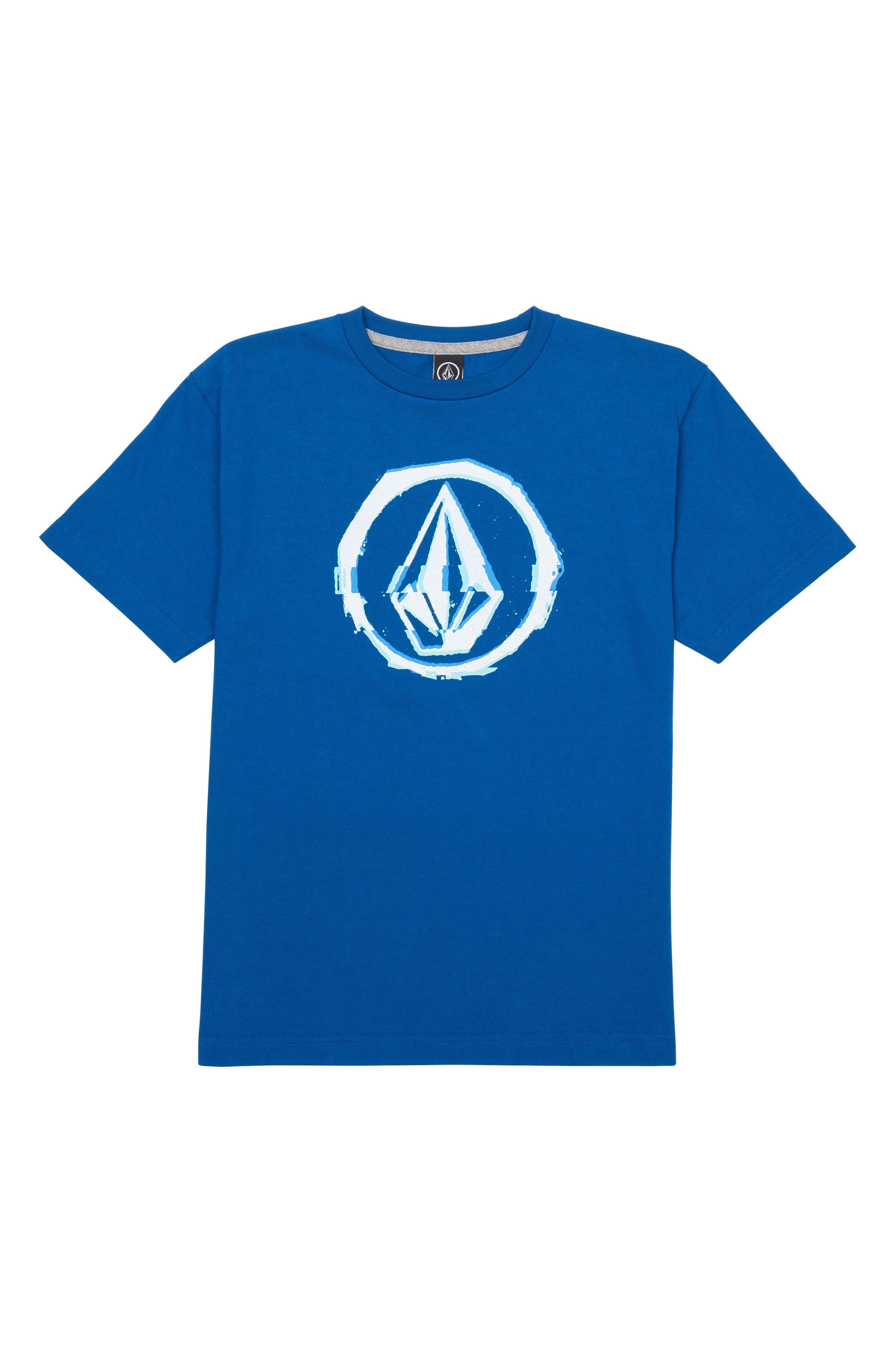 Glitchy Graphic T-Shirt,                             Main thumbnail 1, color,                             421