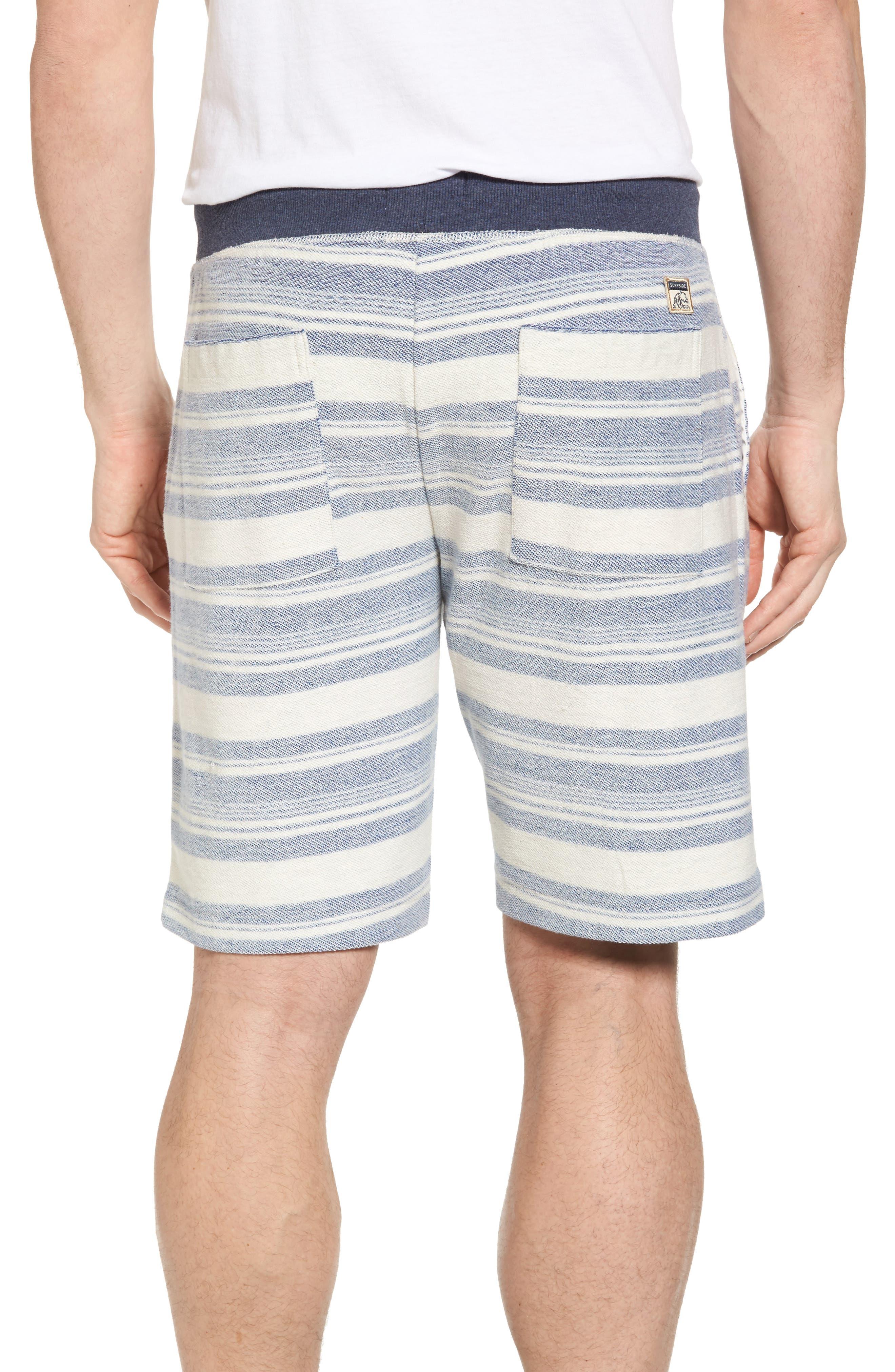 Stripe Reverse Terry Shorts,                             Alternate thumbnail 2, color,                             461