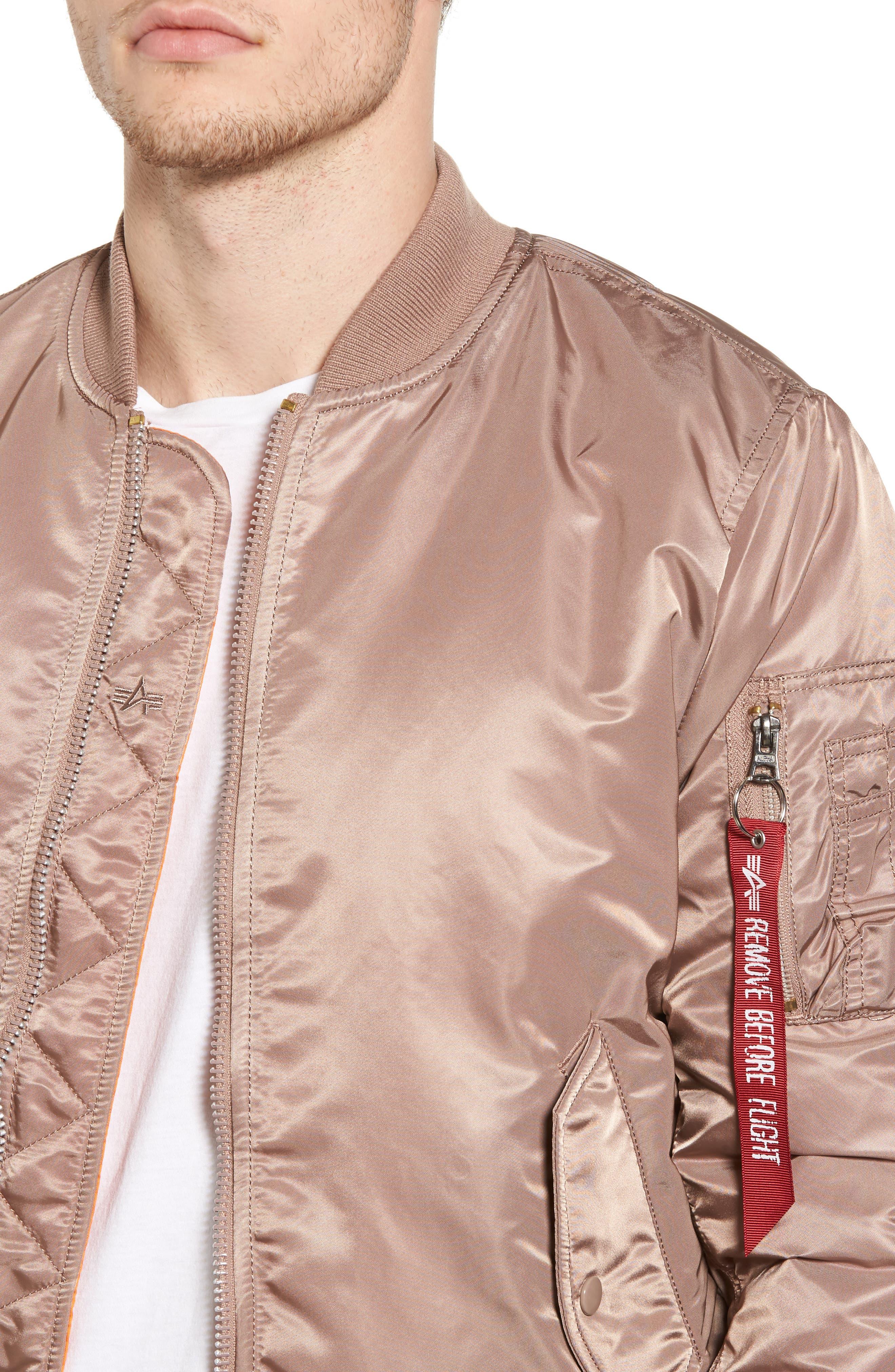 'MA-1' Slim Fit Bomber Jacket,                             Alternate thumbnail 44, color,