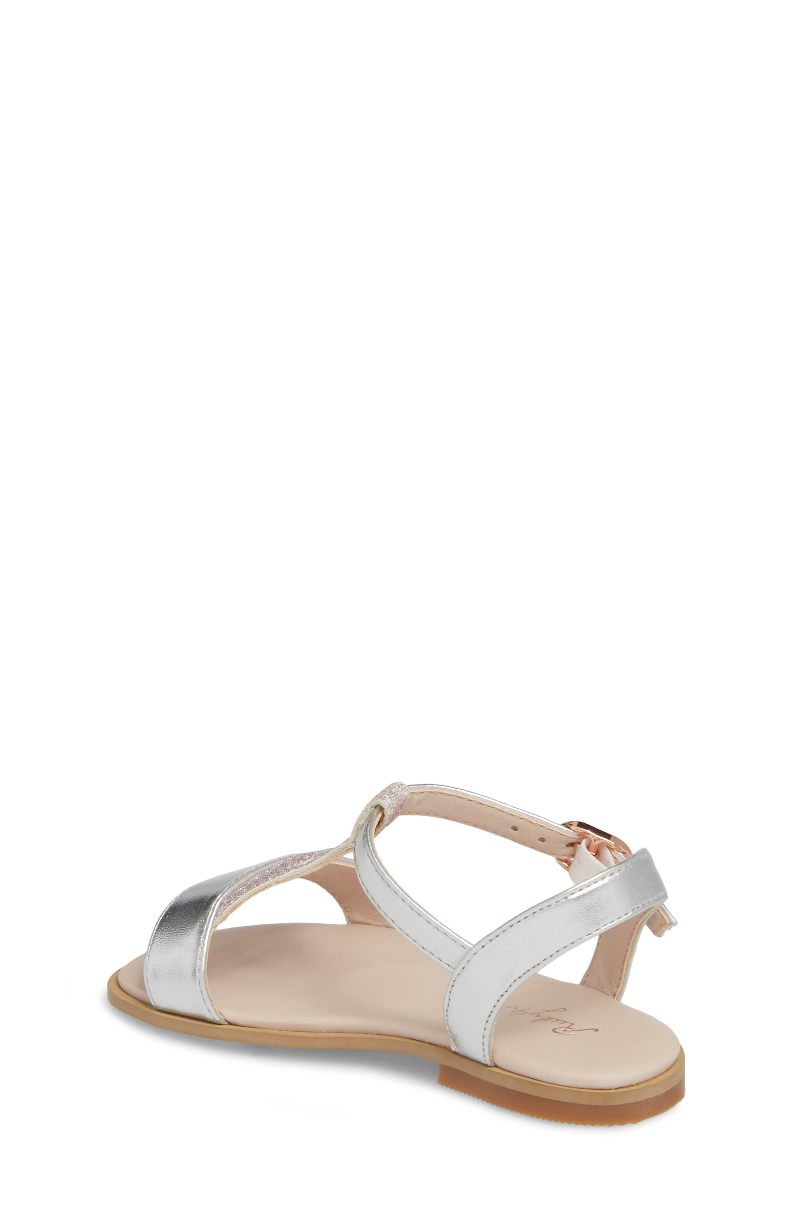 Tegan Glitter T-Strap Sandal,                             Alternate thumbnail 2, color,                             040
