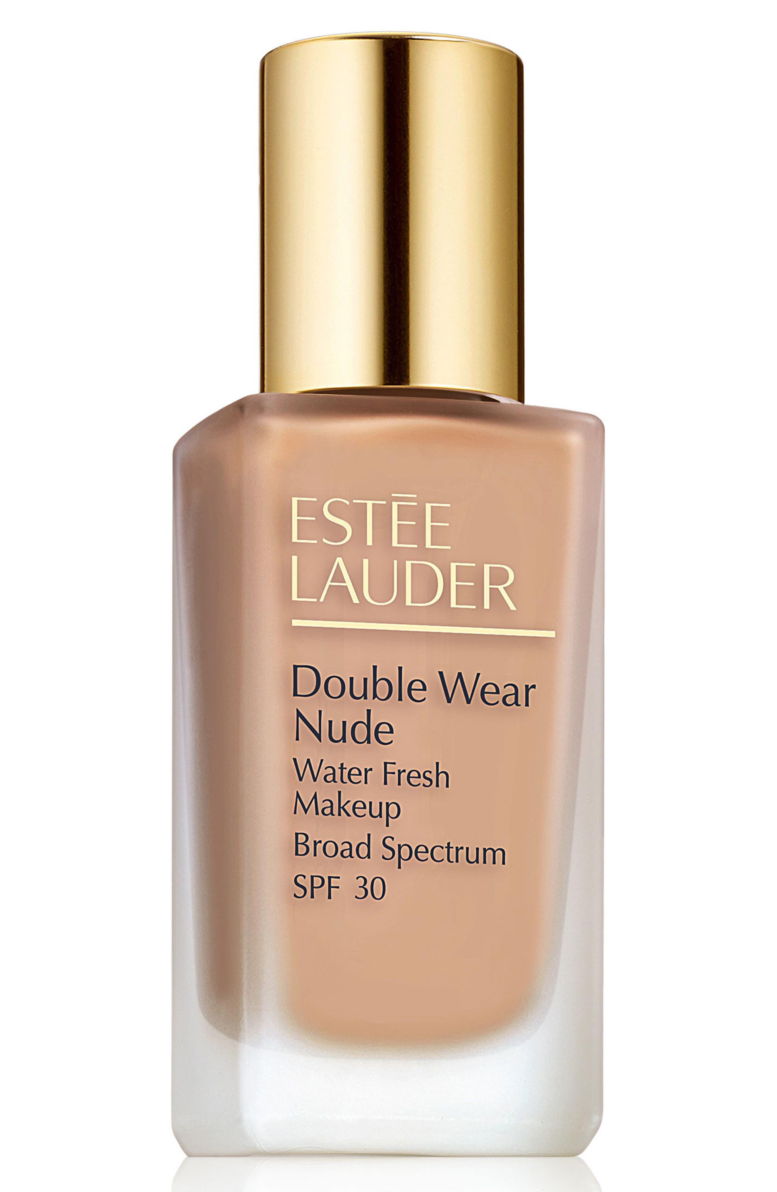 Estee Lauder Double Wear Nude Water Fresh Makeup Broad Spectrum Spf 30 - 2C3 Fresco