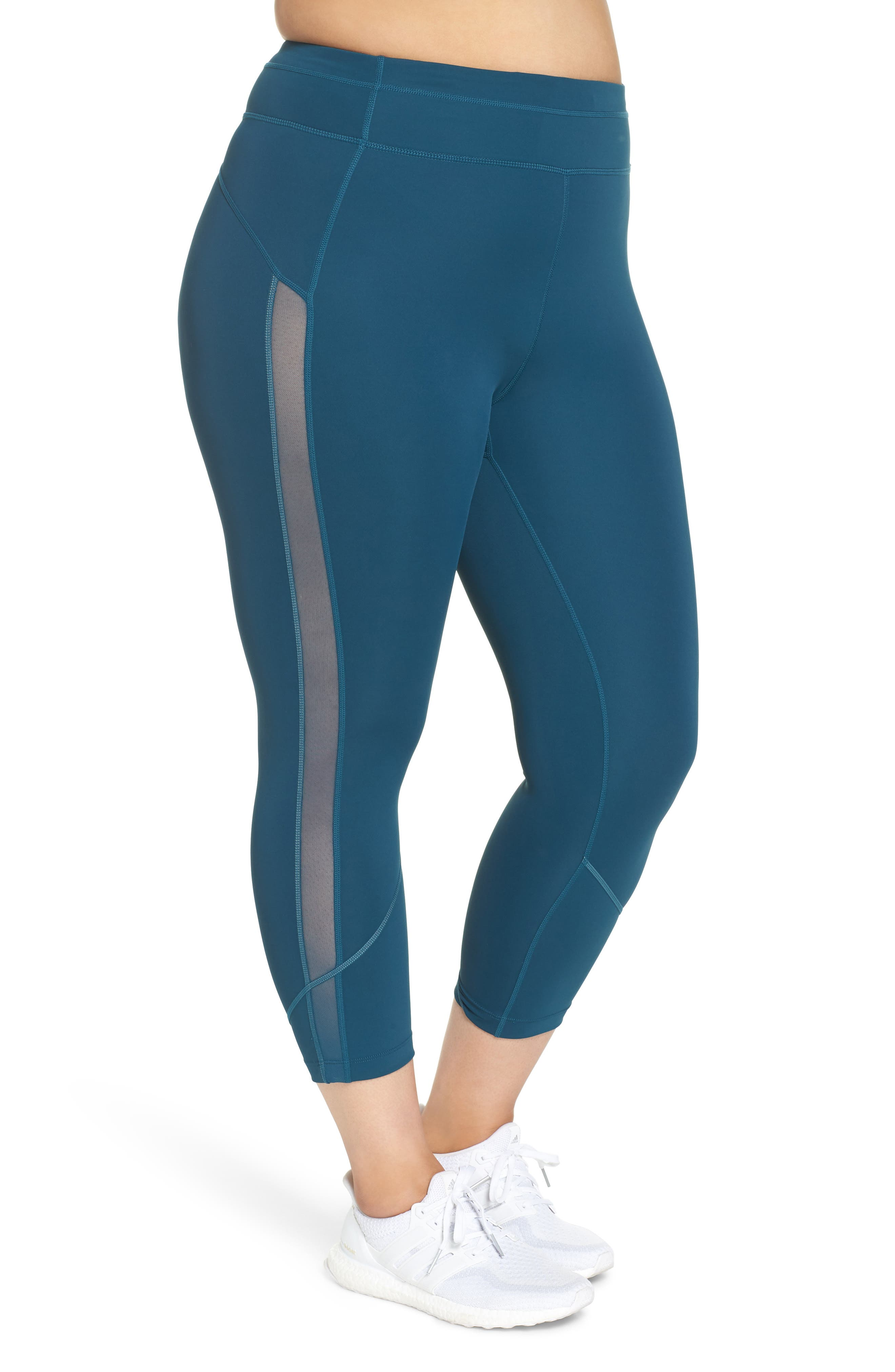 ZELLA,                             All In High Rise Crop Tights,                             Alternate thumbnail 4, color,                             449
