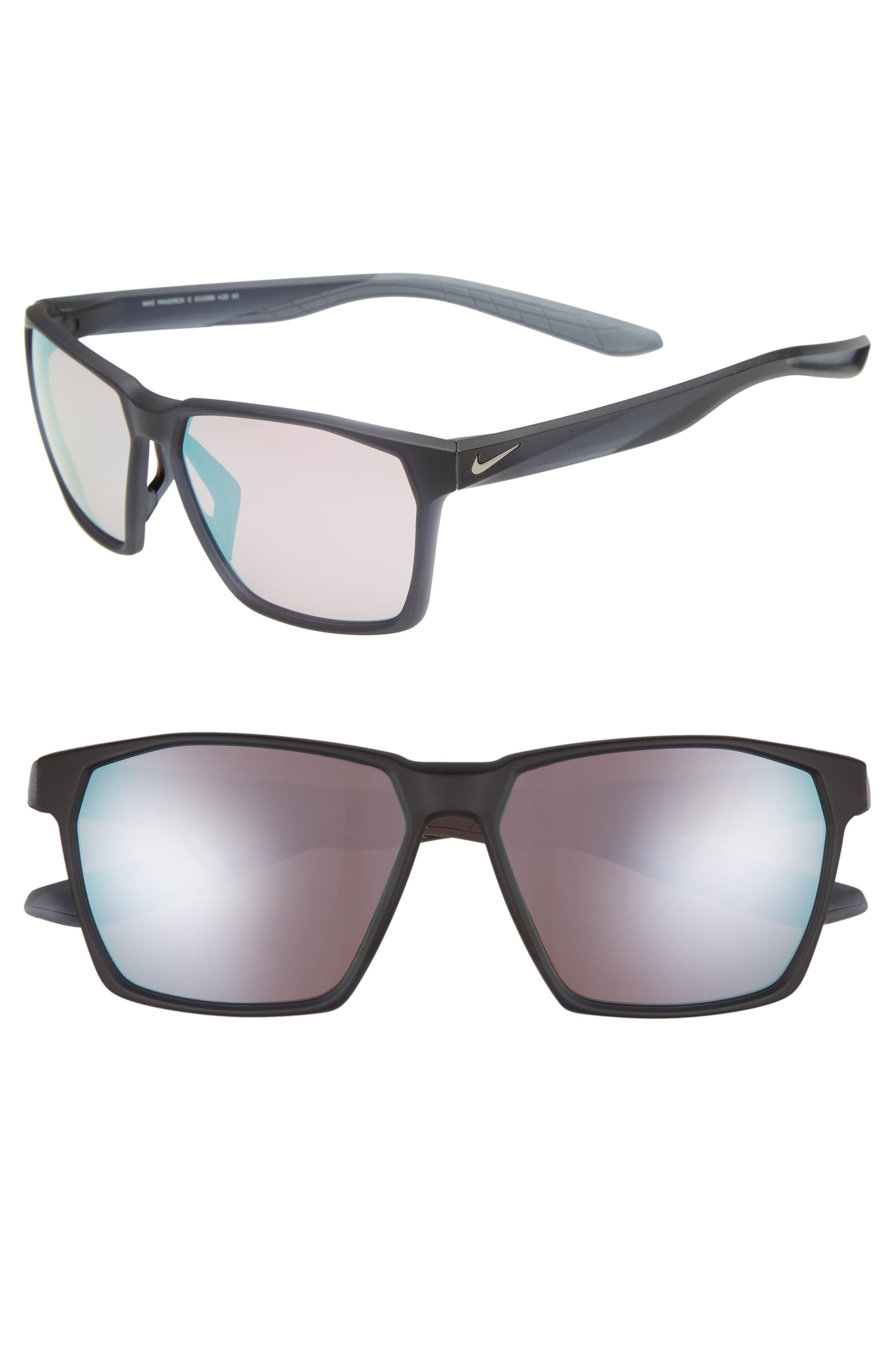 Nike Maverick 5m Sunglasses - Matte Thunder Blue/ Milky Blue