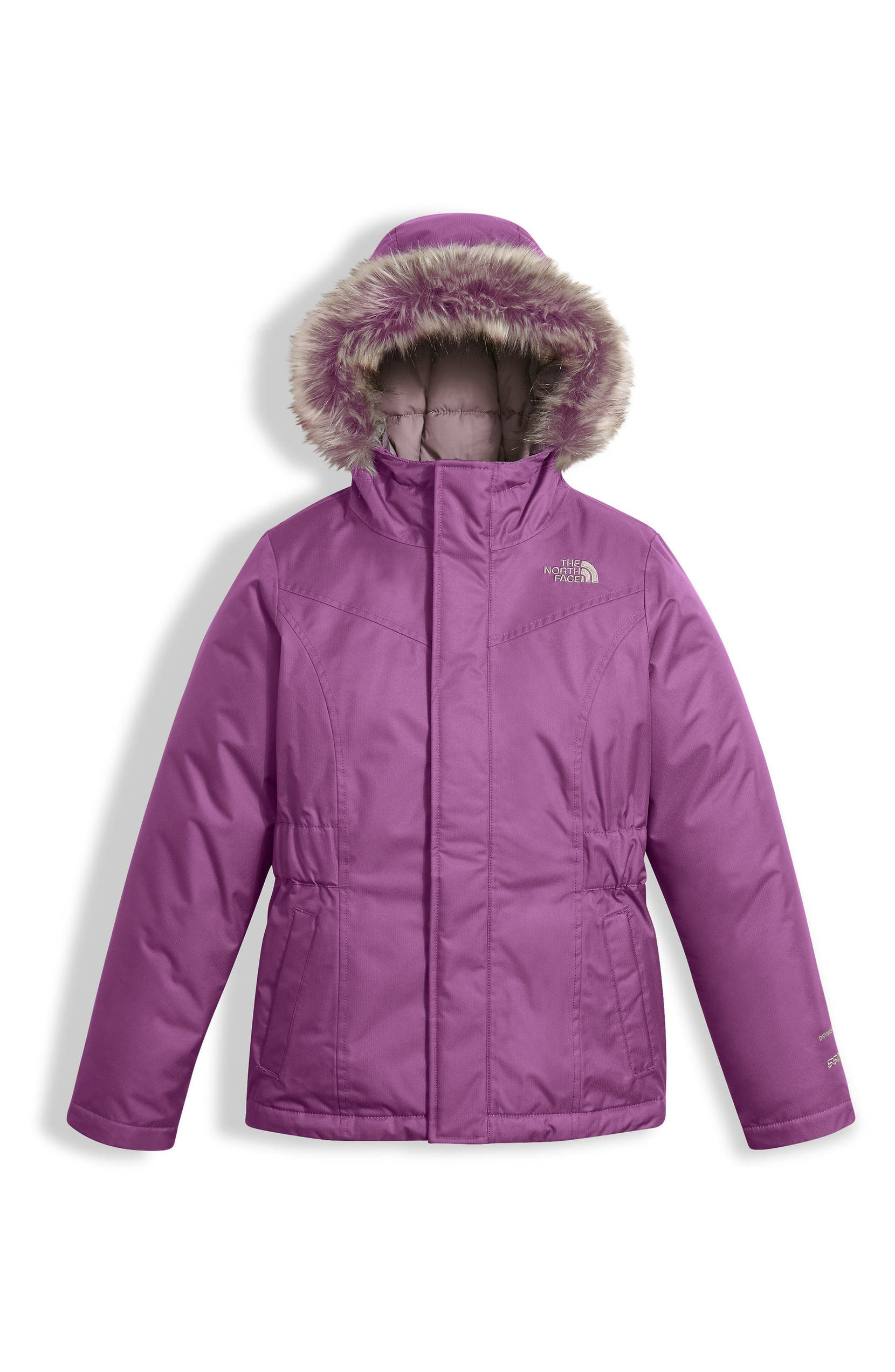 c3c8413be7 The North Face Greenland Waterproof 550-Fill Down Jacket (Little Girls    Big Girls)