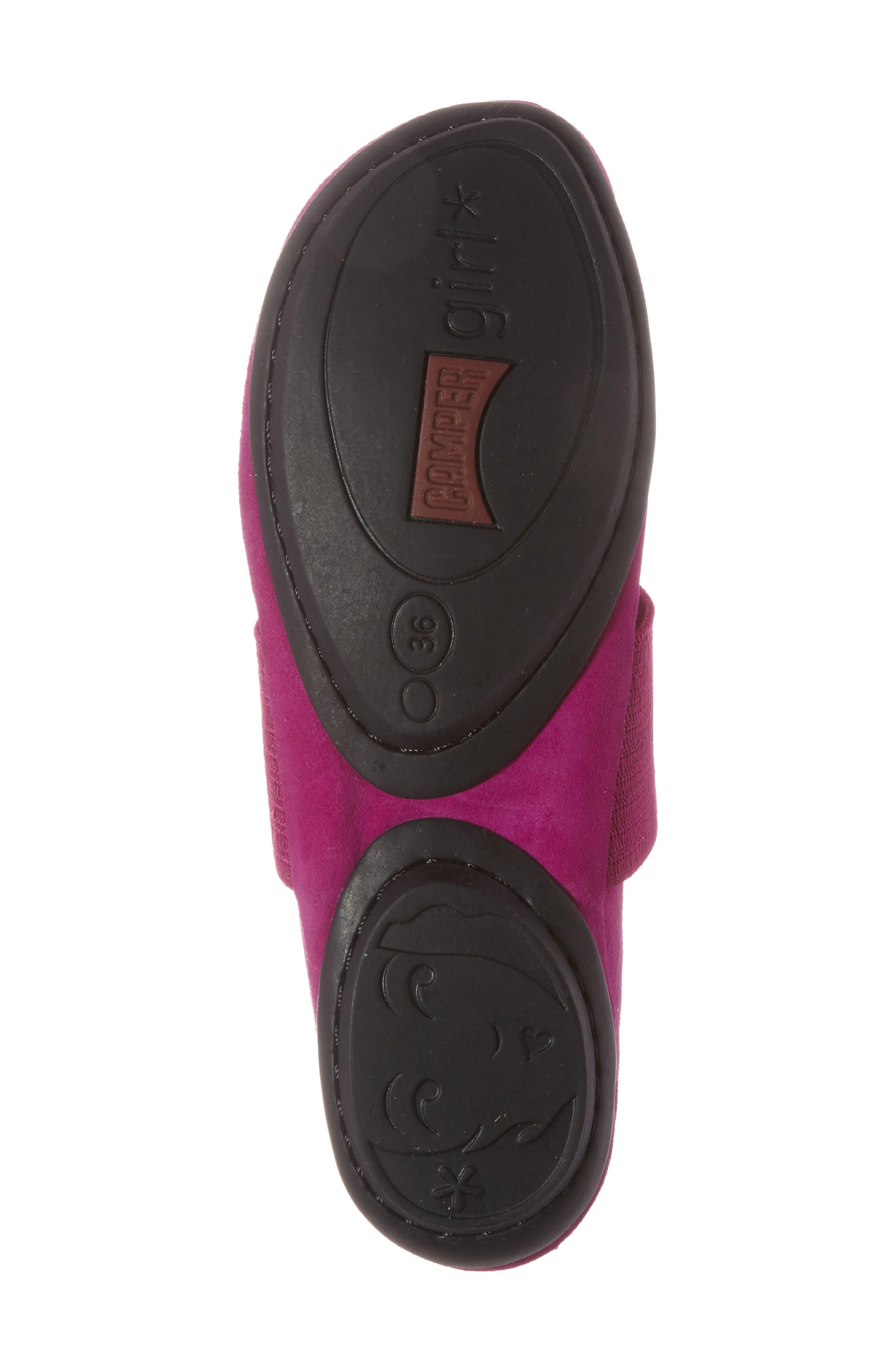 'Right Nina' Leather Ballerina Flat,                             Alternate thumbnail 132, color,