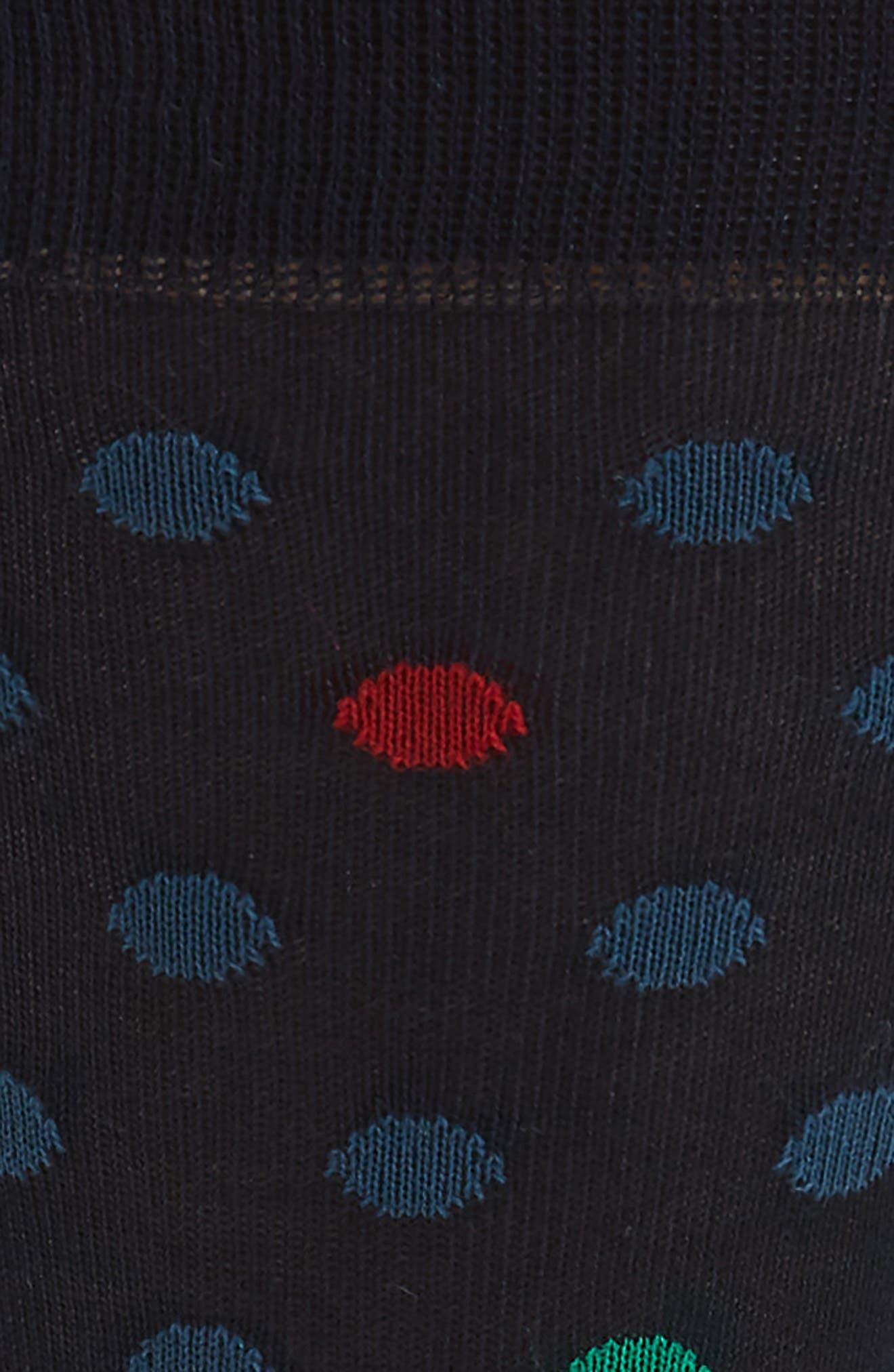 Highlight Dot Socks,                             Alternate thumbnail 2, color,