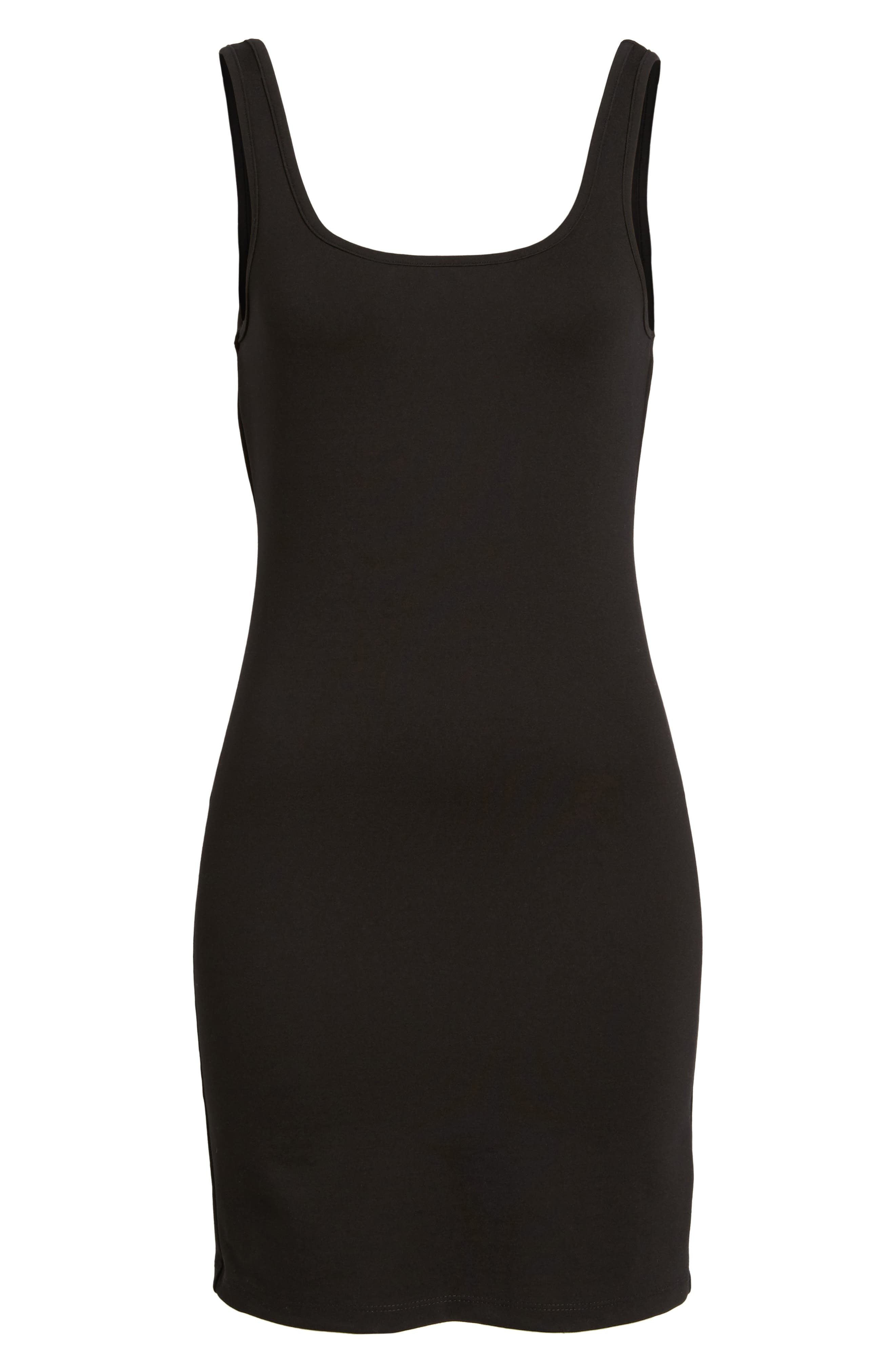 Vara Tank Dress,                             Alternate thumbnail 6, color,                             002