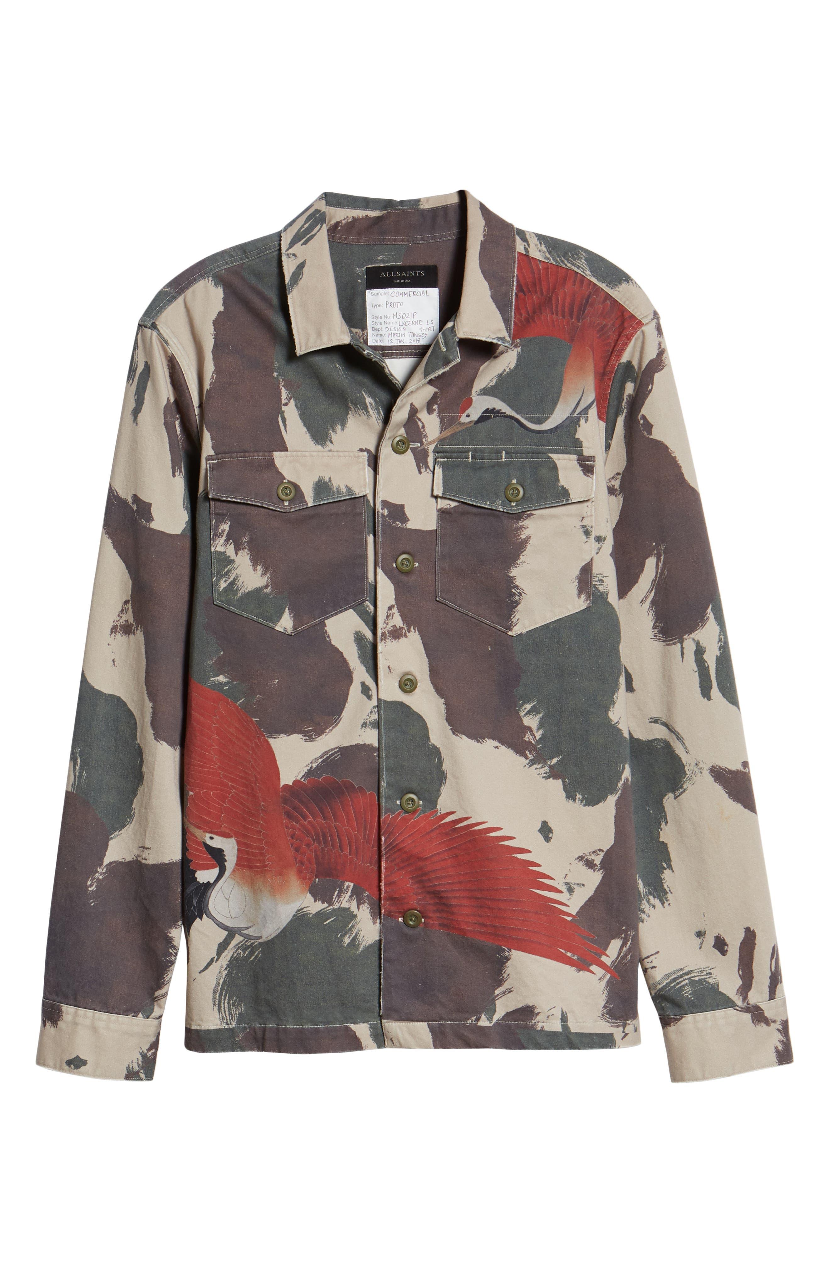 Lucerne Slim Fit Shirt,                             Alternate thumbnail 5, color,                             300