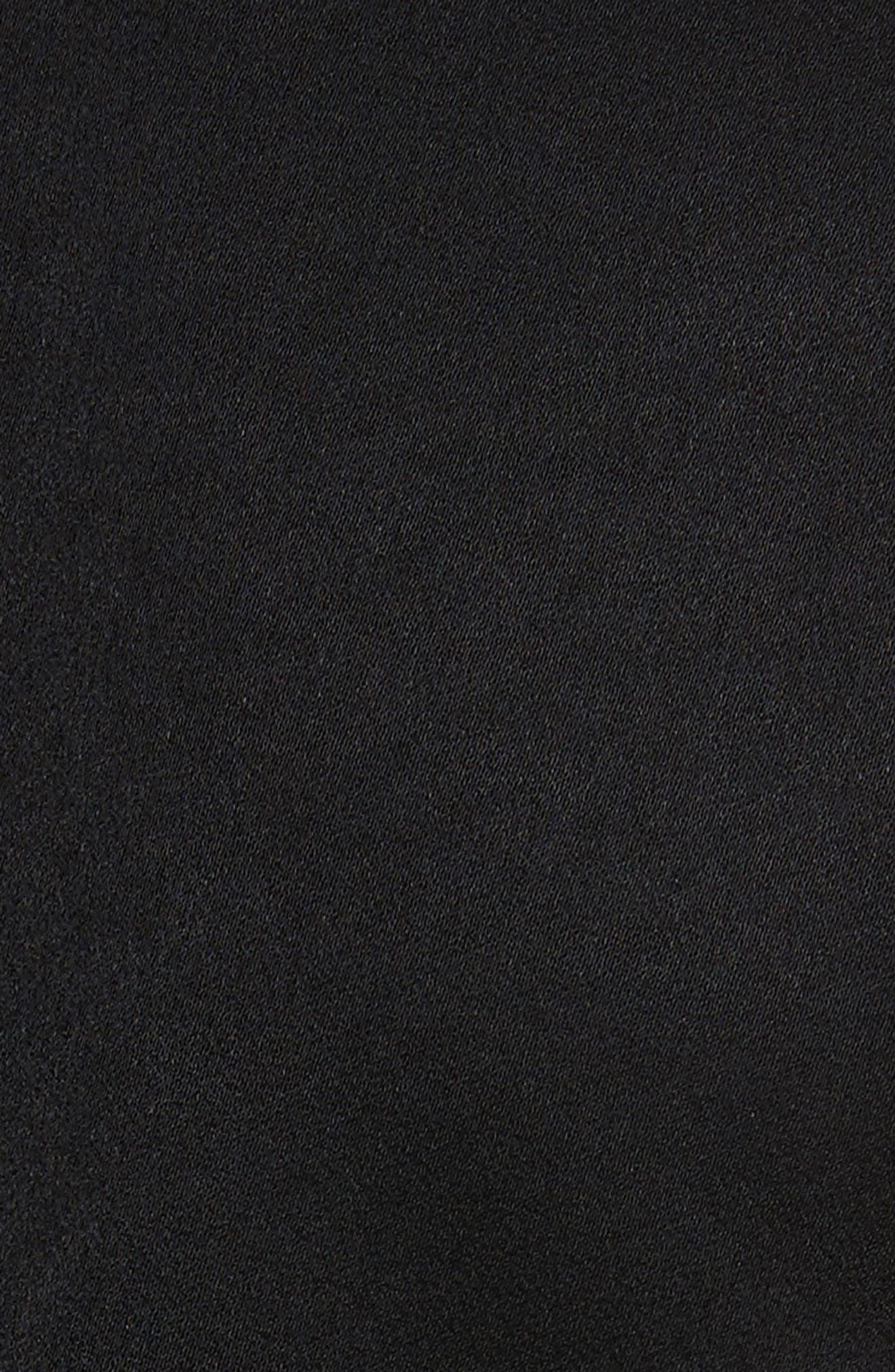 Adage Detachable Bell Sleeve Dress,                             Alternate thumbnail 5, color,                             001