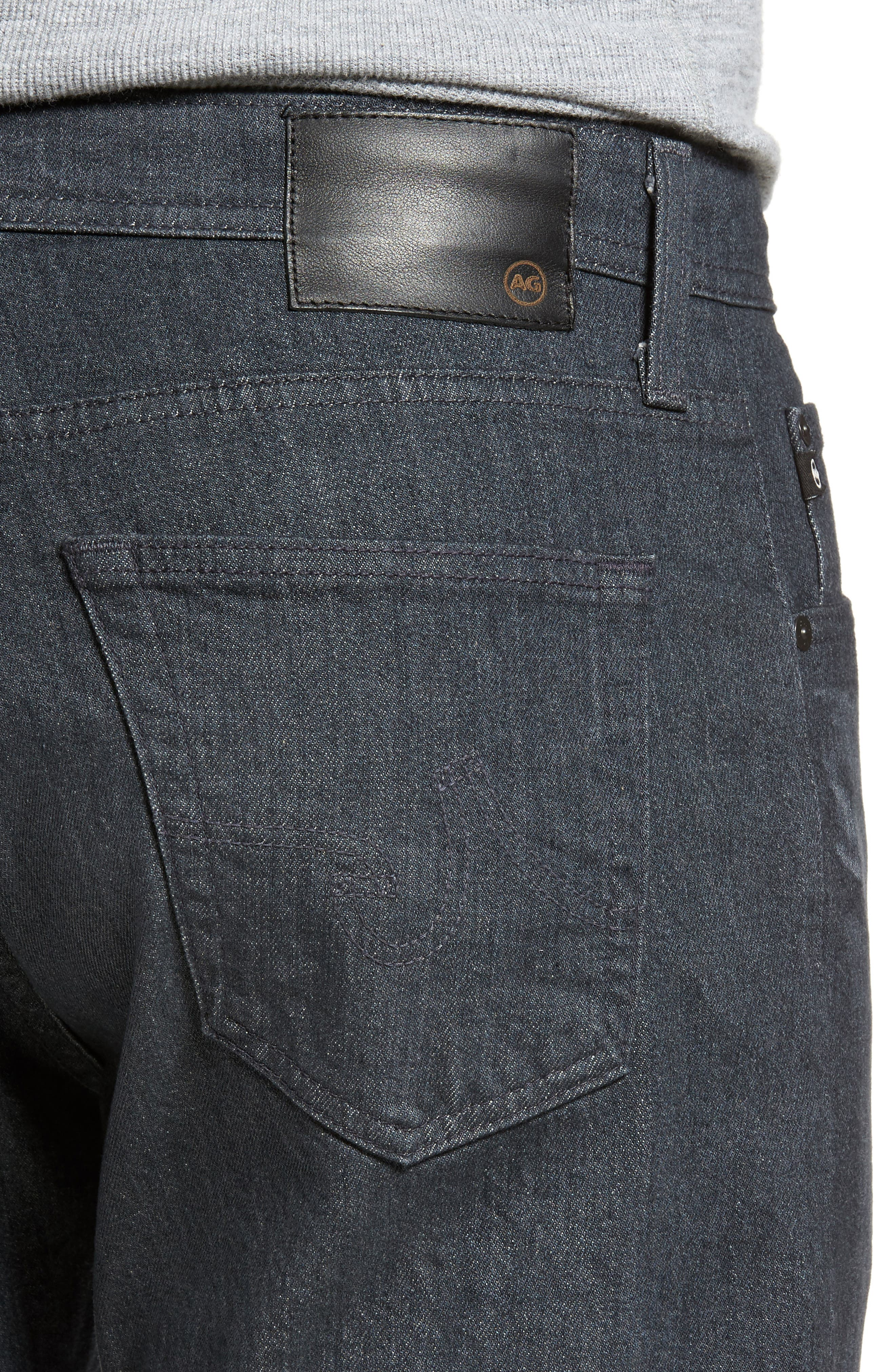 Ives Straight Fit Jeans,                             Alternate thumbnail 4, color,                             015