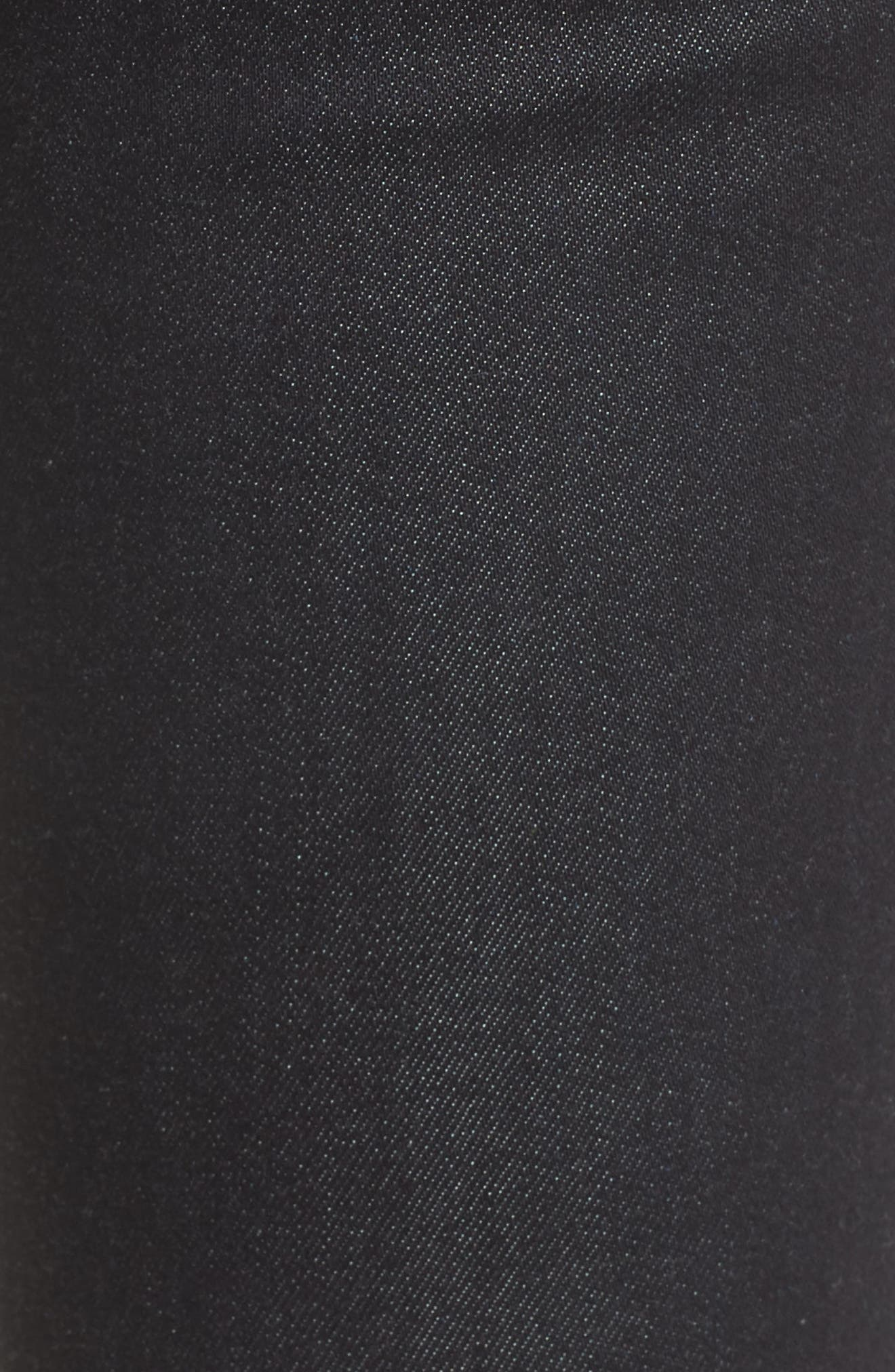 Maria High Waist Super Skinny Jeans,                             Alternate thumbnail 6, color,                             DARK TWILIGHT