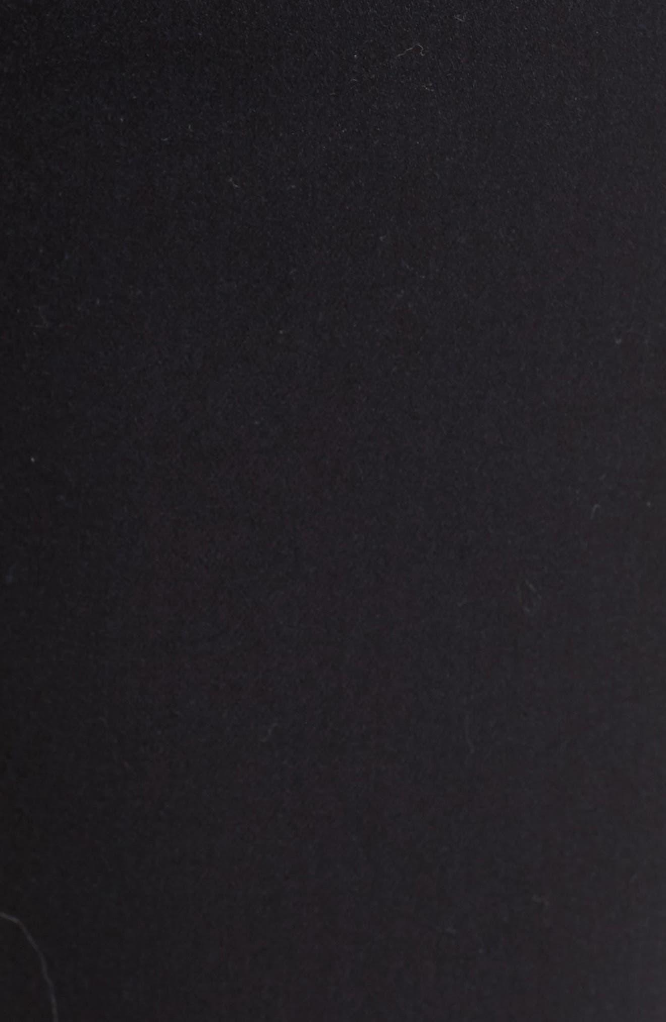 Good Waist High Rise Skinny Jeans,                             Alternate thumbnail 7, color,                             BLACK 004