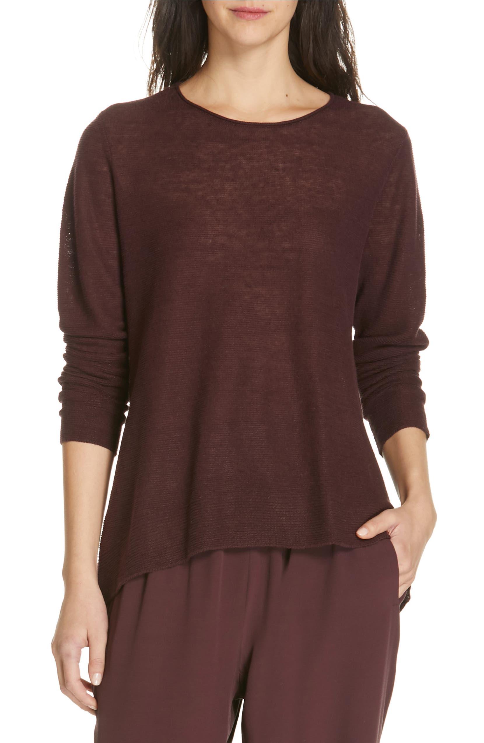 6225761a3d Eileen Fisher Organic Linen Tunic